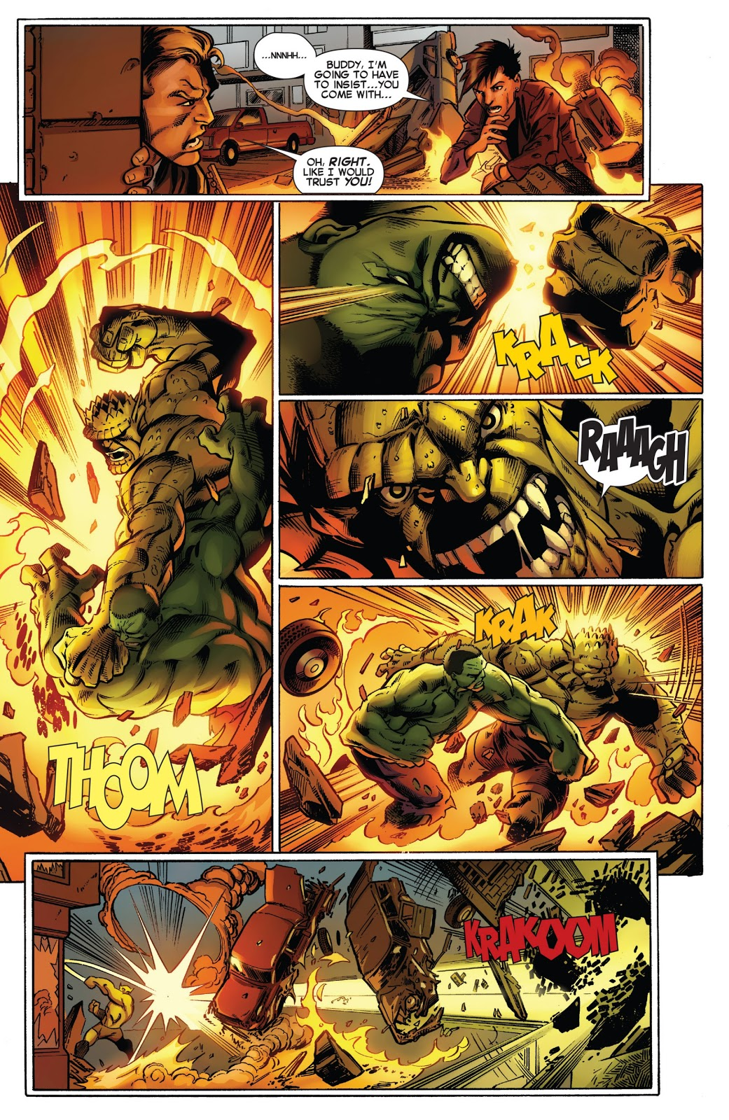 Hulk Banner D.O.A. review