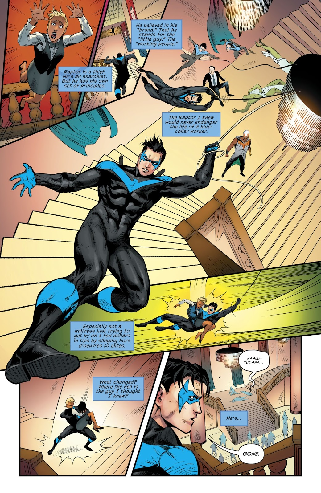 Nightwing 5 Raptor's Revenge review