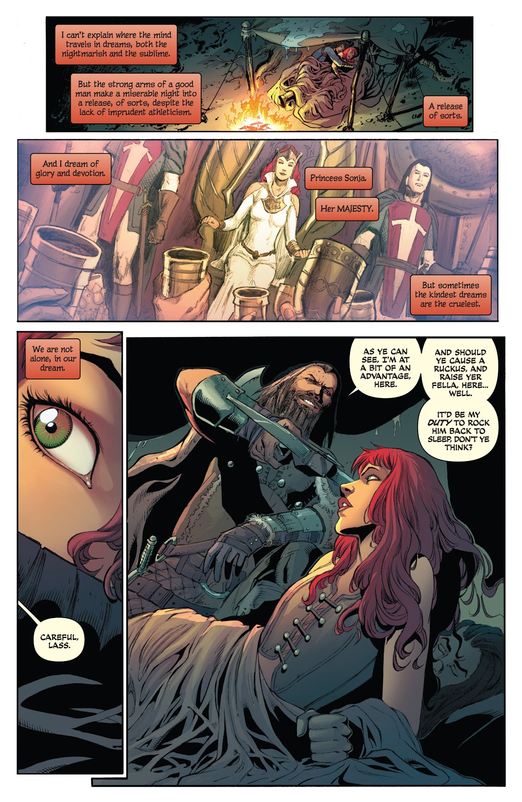 Red Sonja The Forgiving of Monsters review