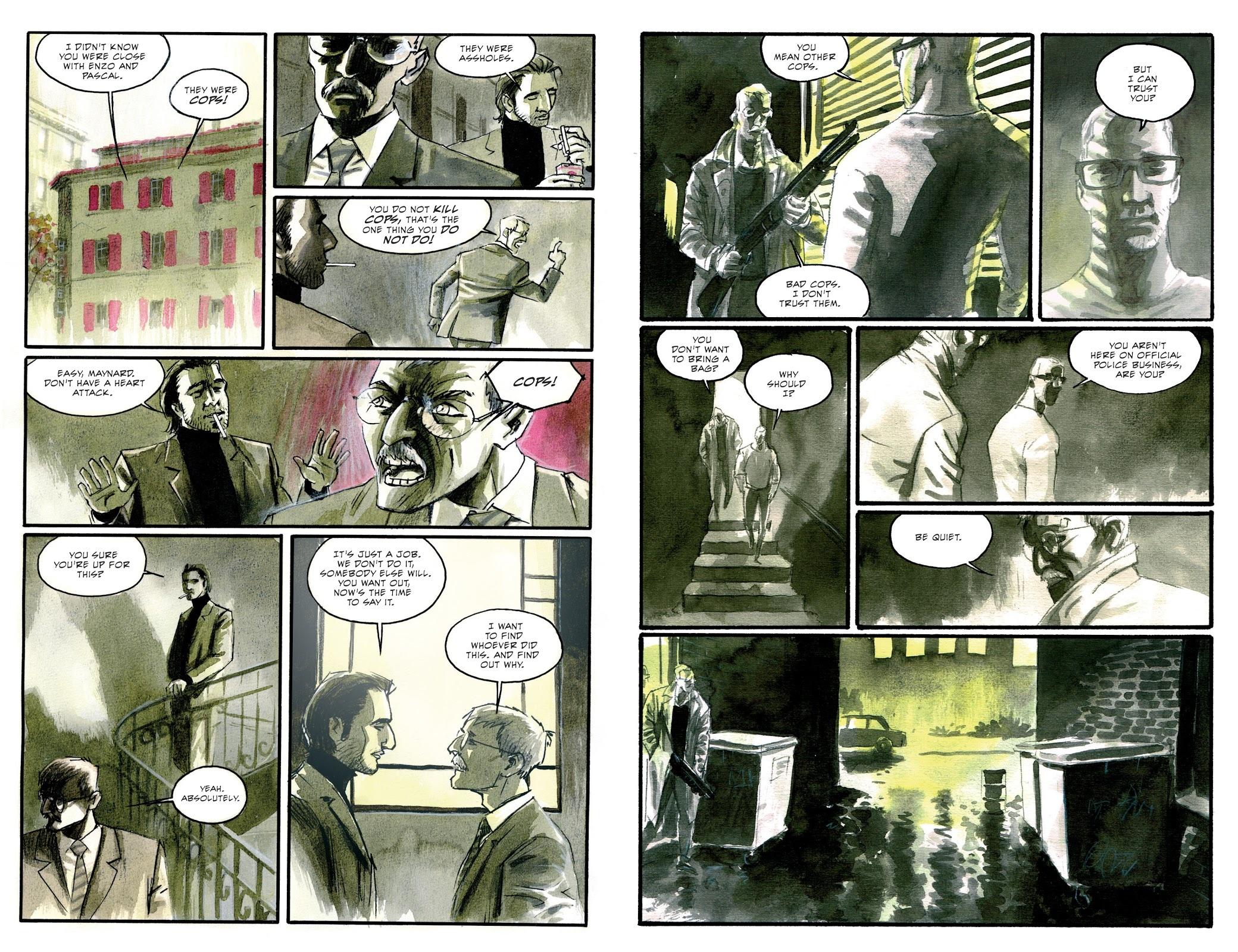 Stiletto graphic novel review