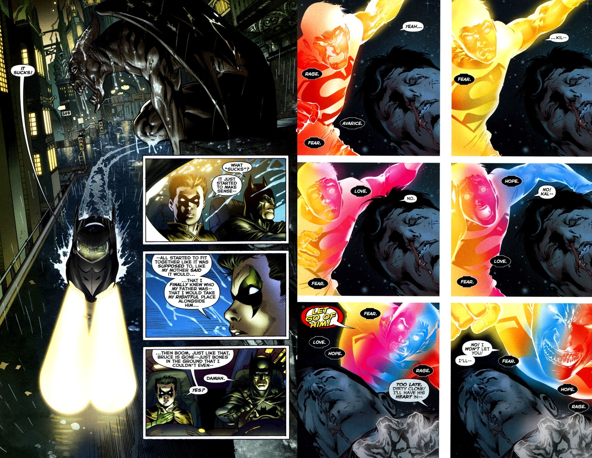 Blackest Night Black Lantern Corps review