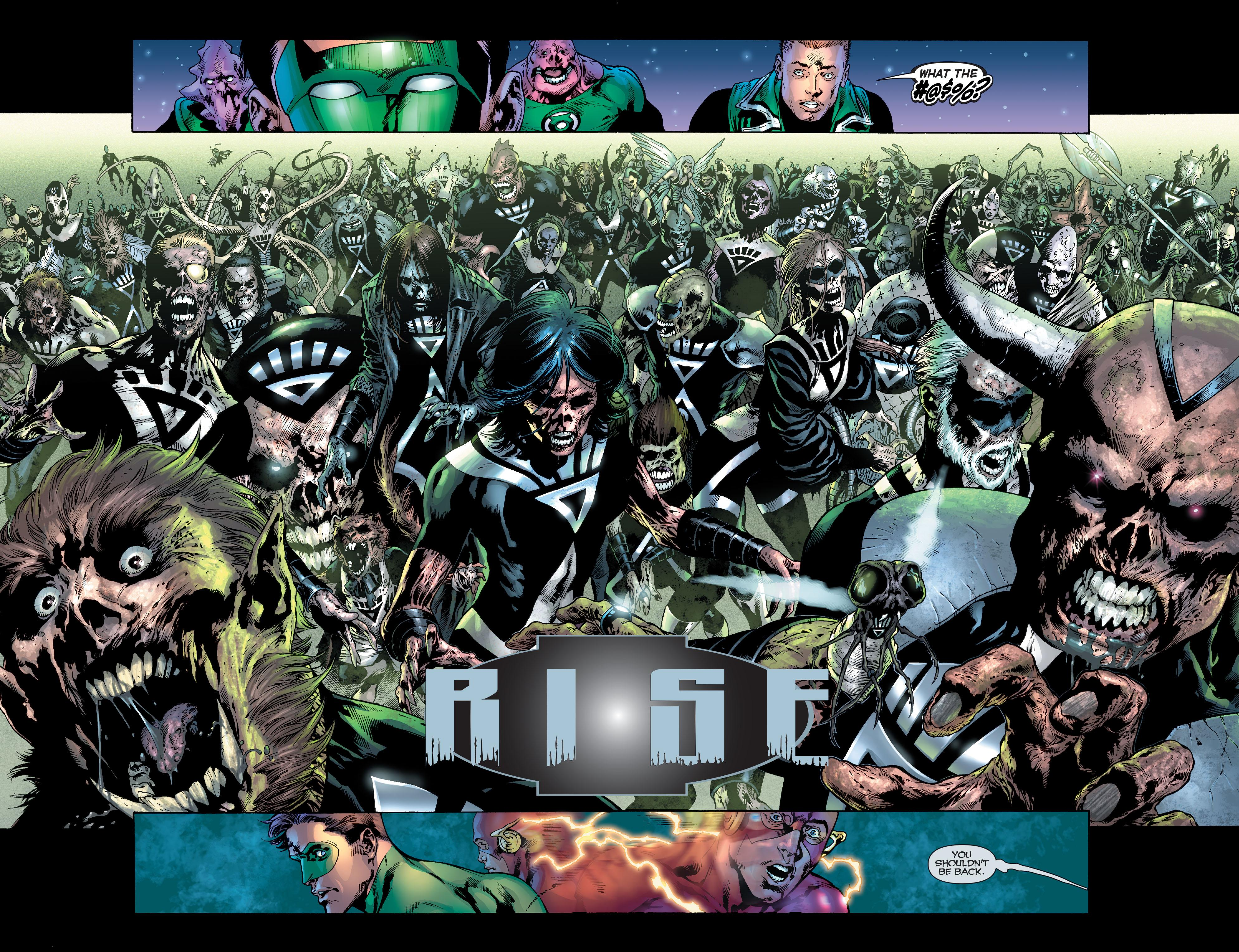Blackest Night graphic novel review
