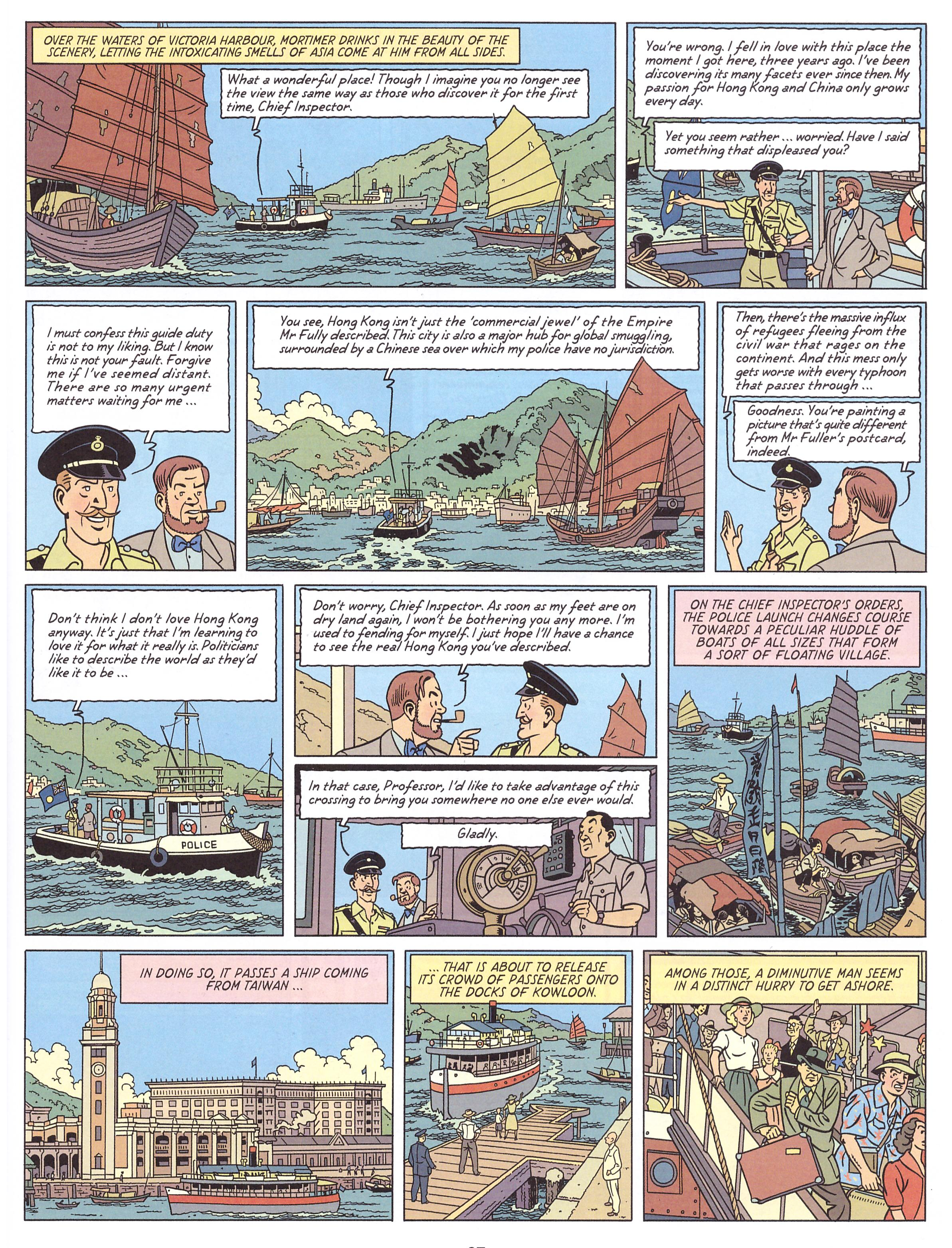 Blake and Mortimer Valley of the Immortals review