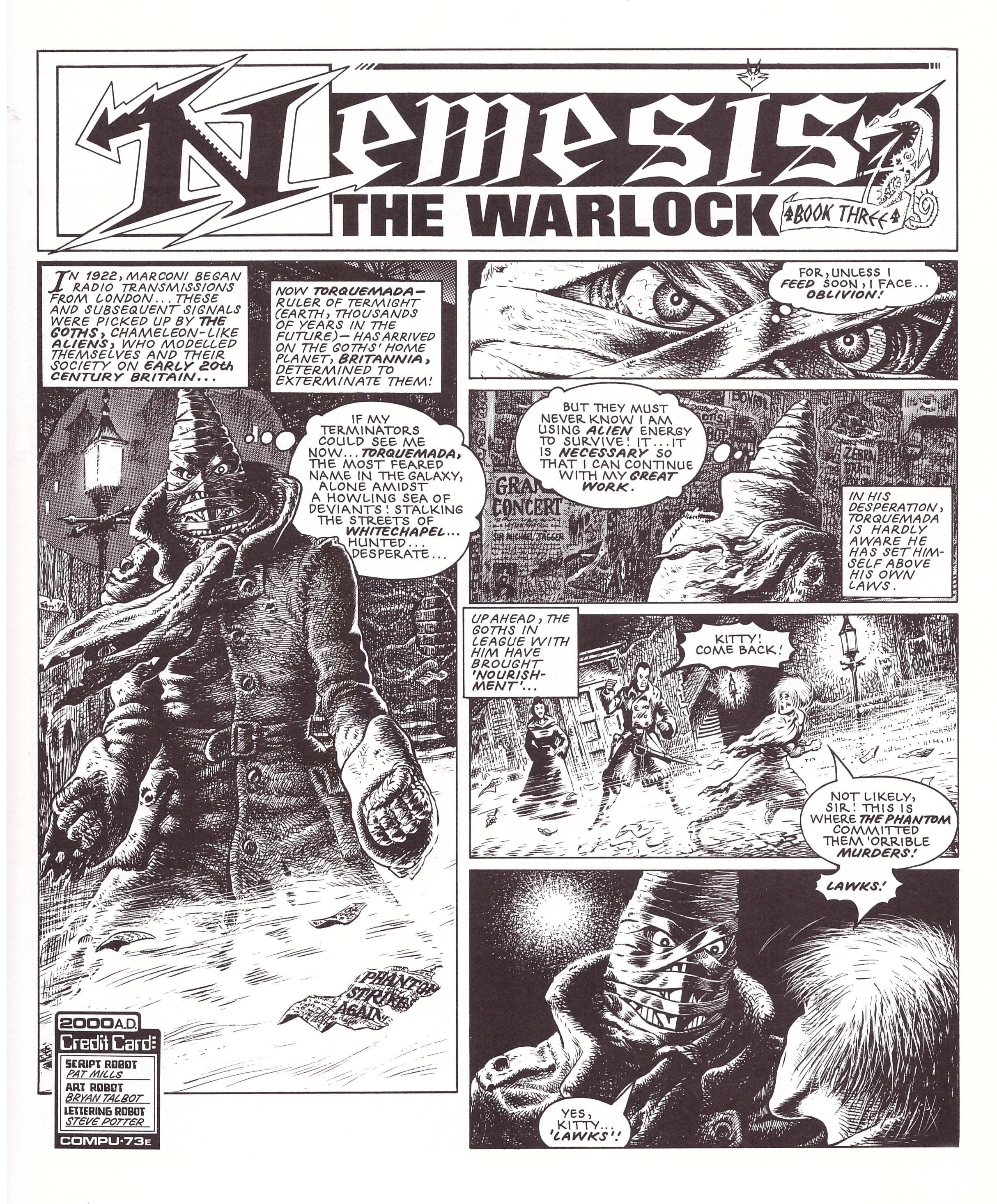 Nemesis The Warlock Book Three review