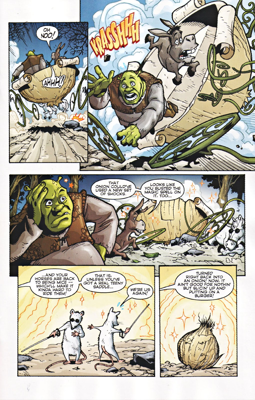 Shrek graphic novel review