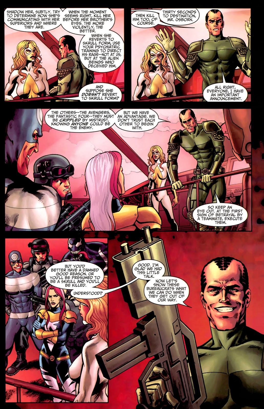 Thunderbolts Secret Invasion review