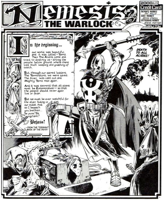 nemesis the warlock book one review sample image