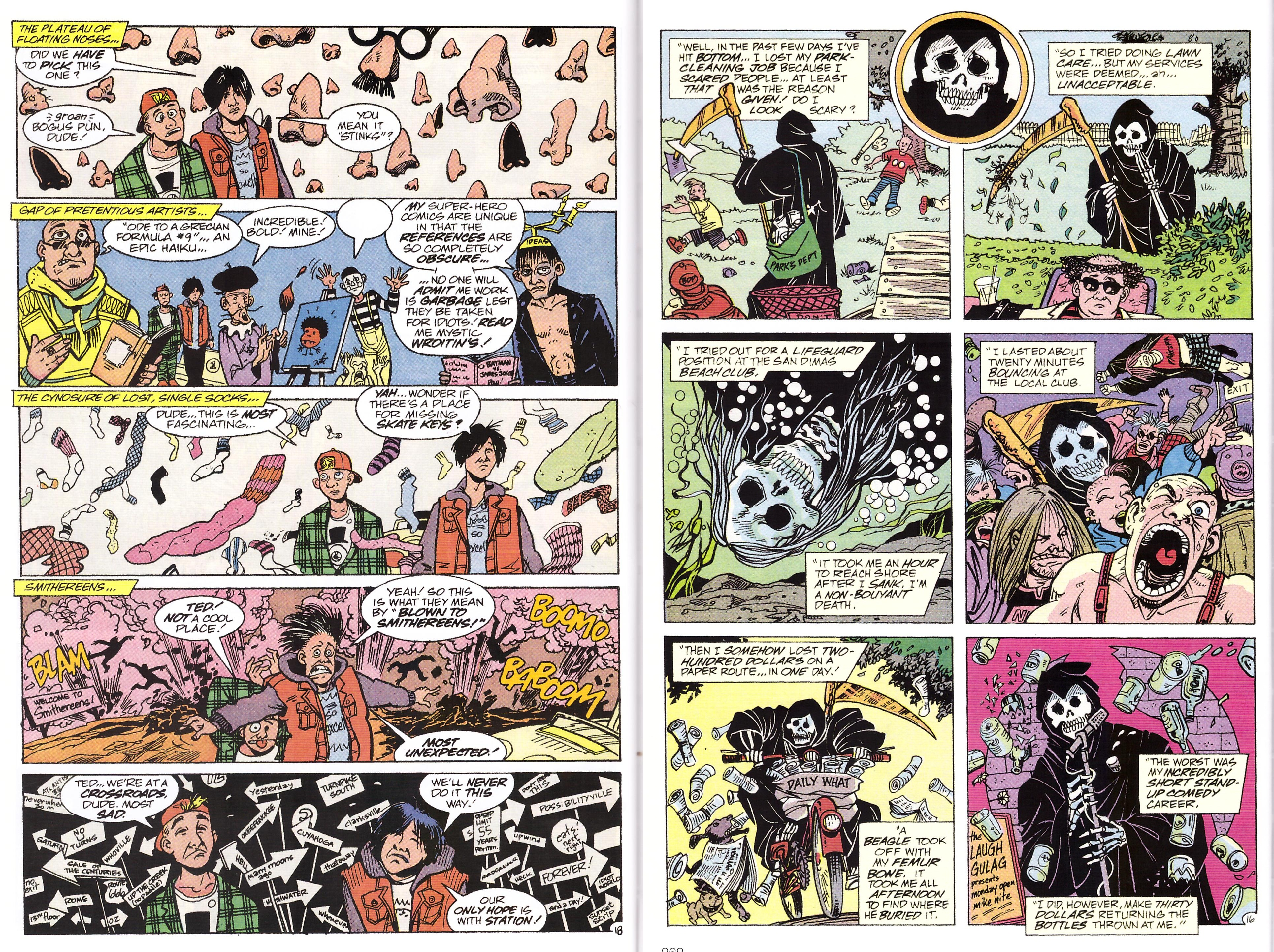 Bill and Ted's Excellent Comic Book Archive review