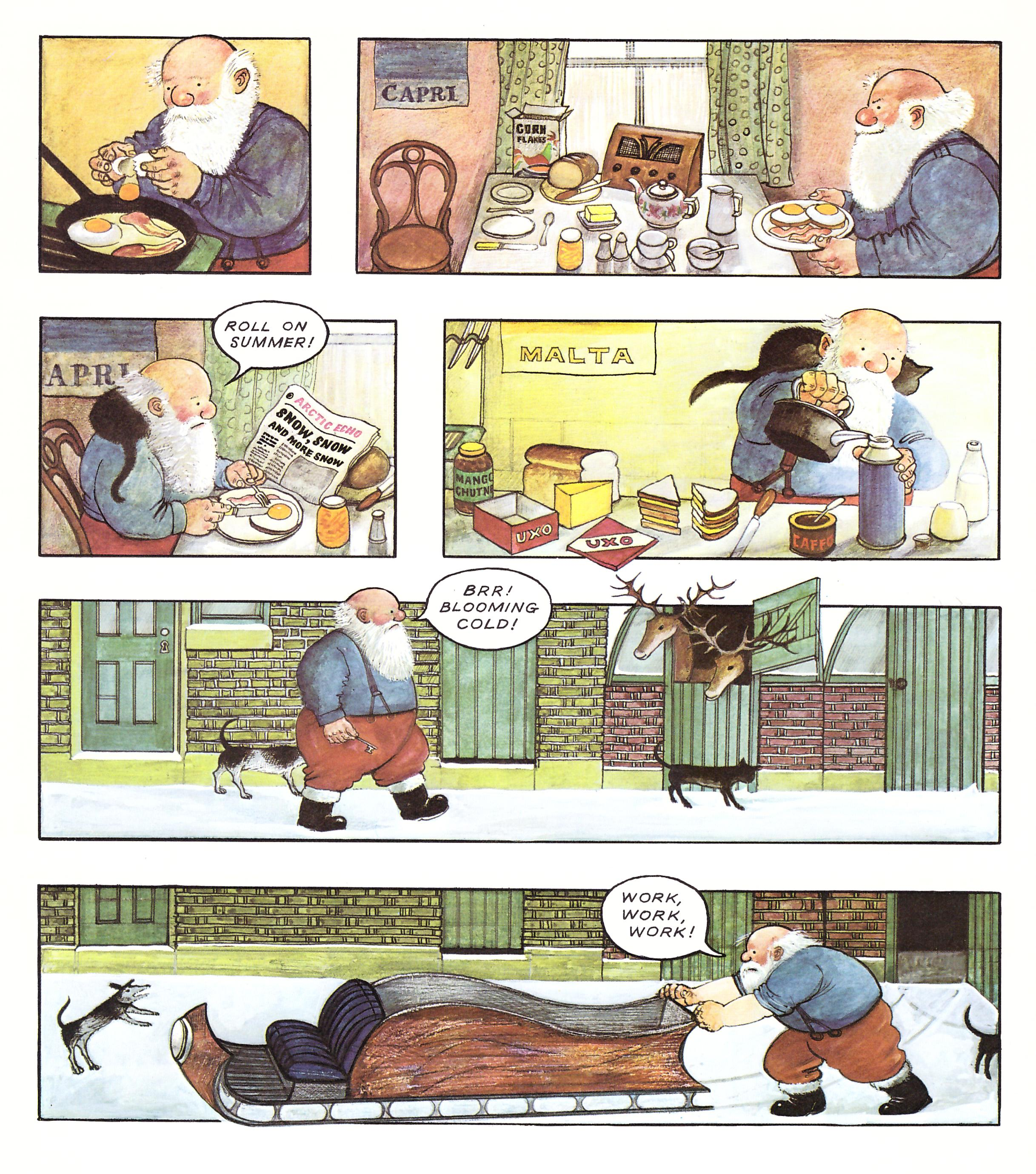 Father Christmas graphic novel review