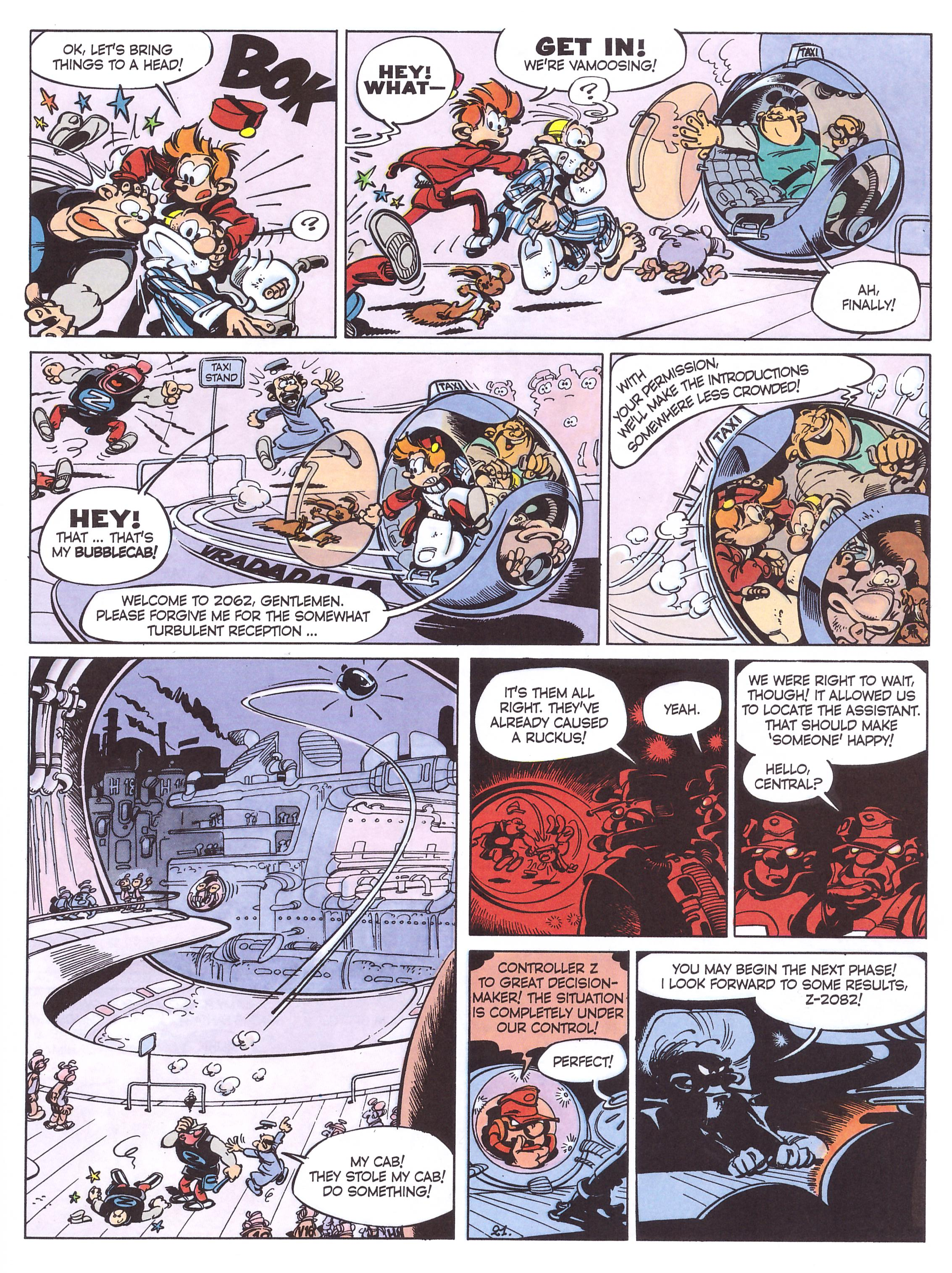Spirou and Fantasio The Z Rises Again review