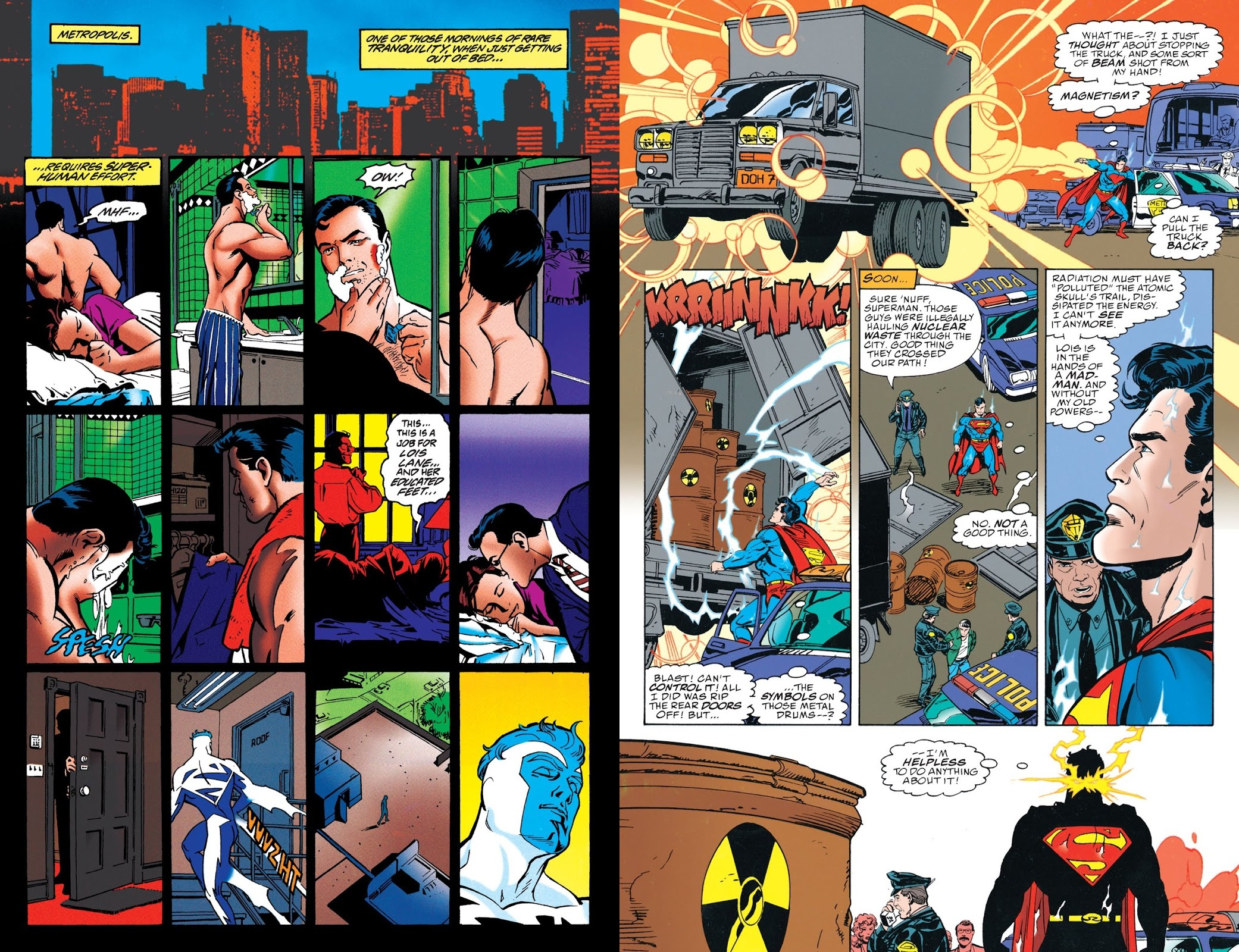 Superman Blue Volume 1 review