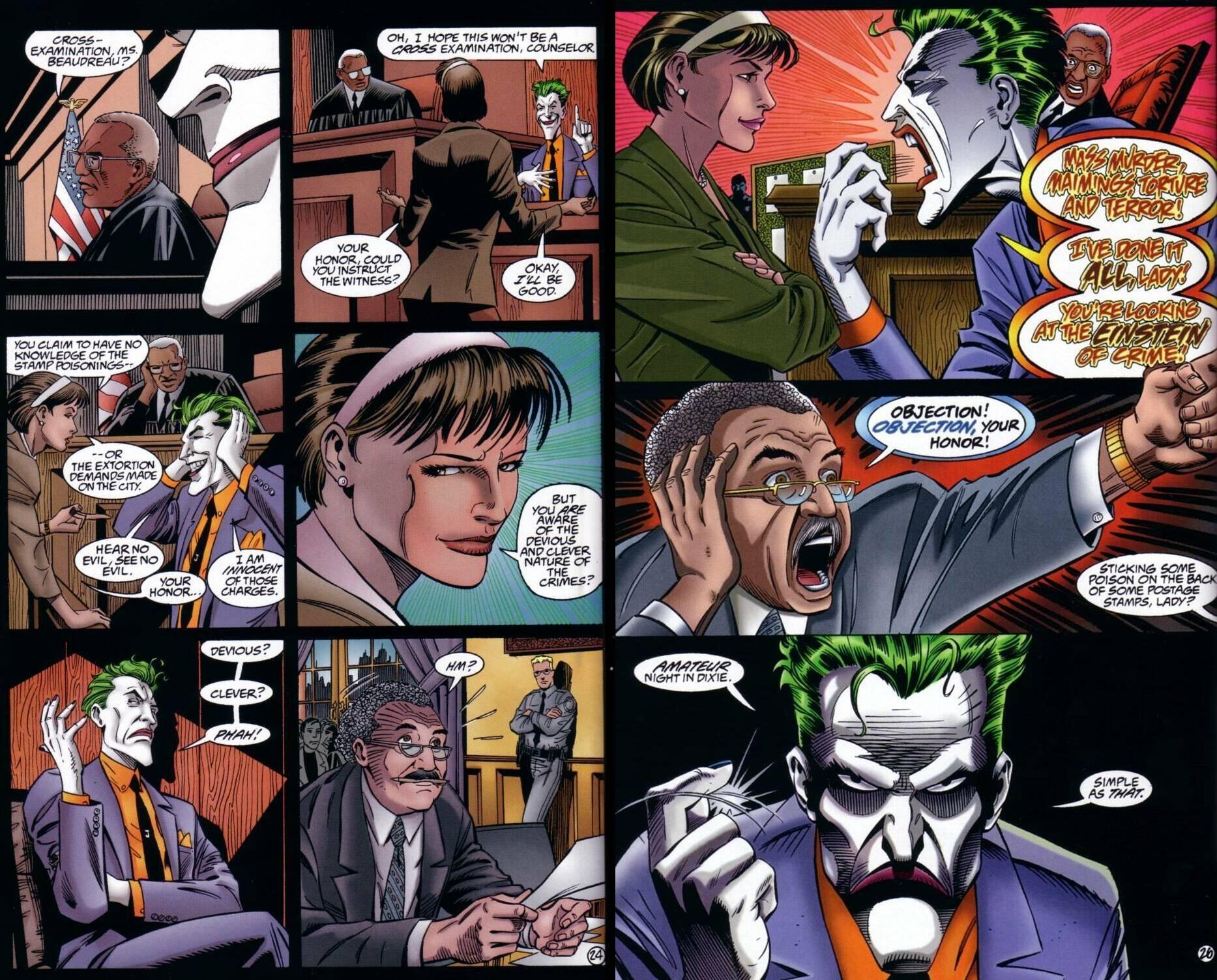 The Joker - Devil's Advocate review