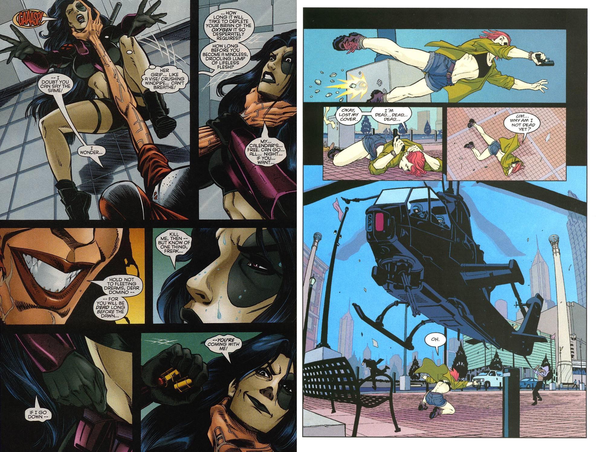 X-Men Domino review