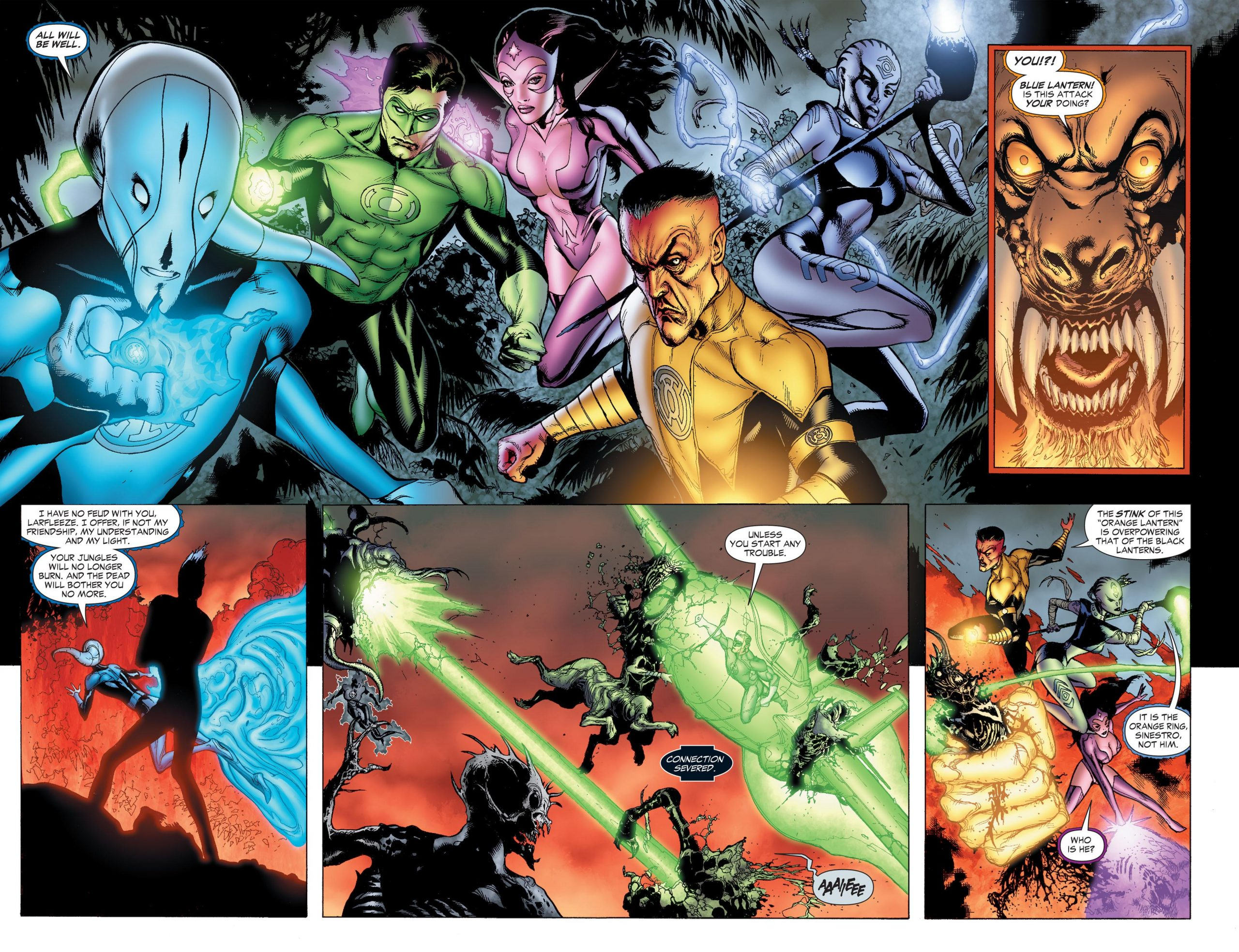 Green Lantern - Blackest Night review