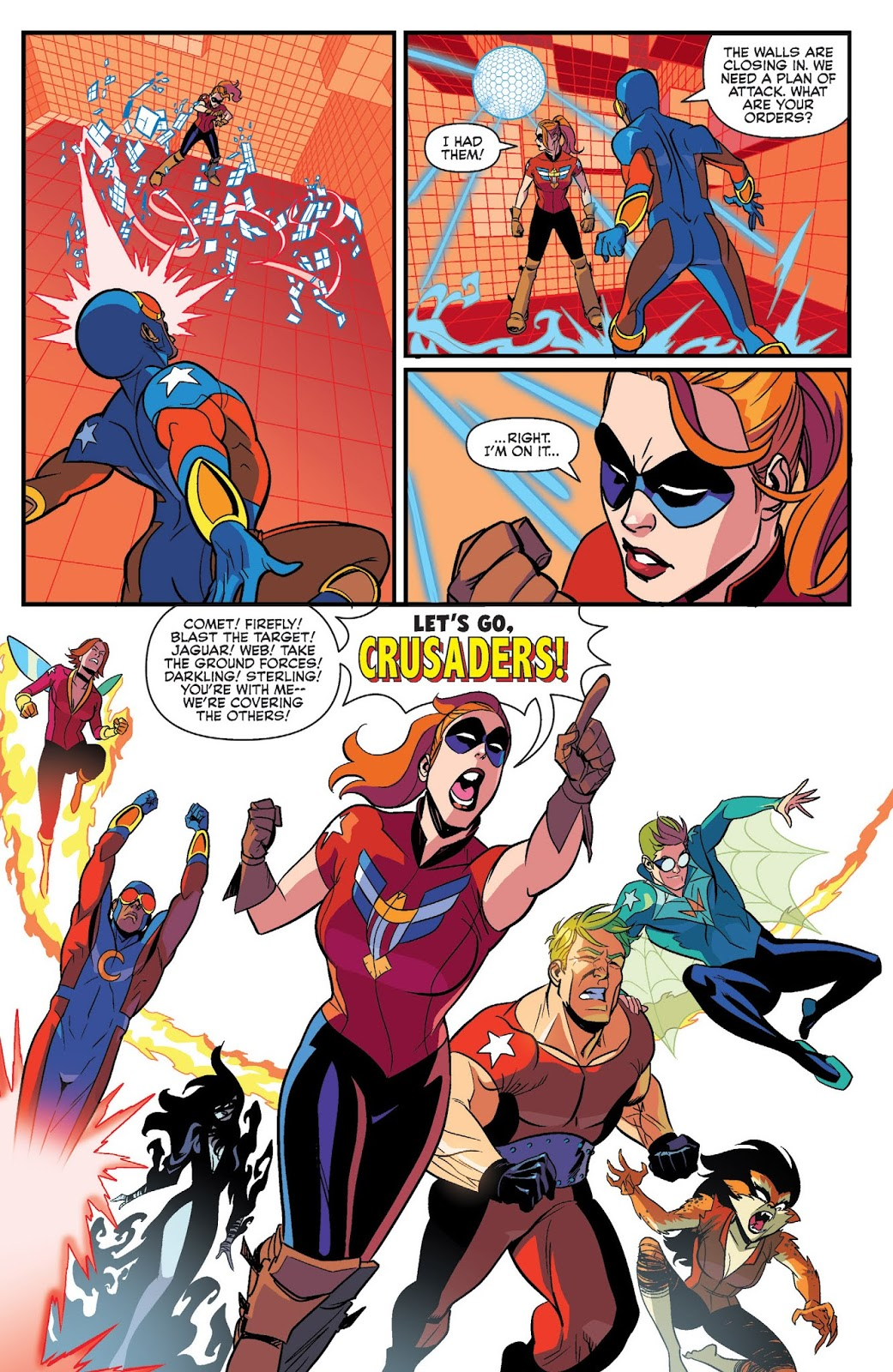 The Mighty Crusaders review