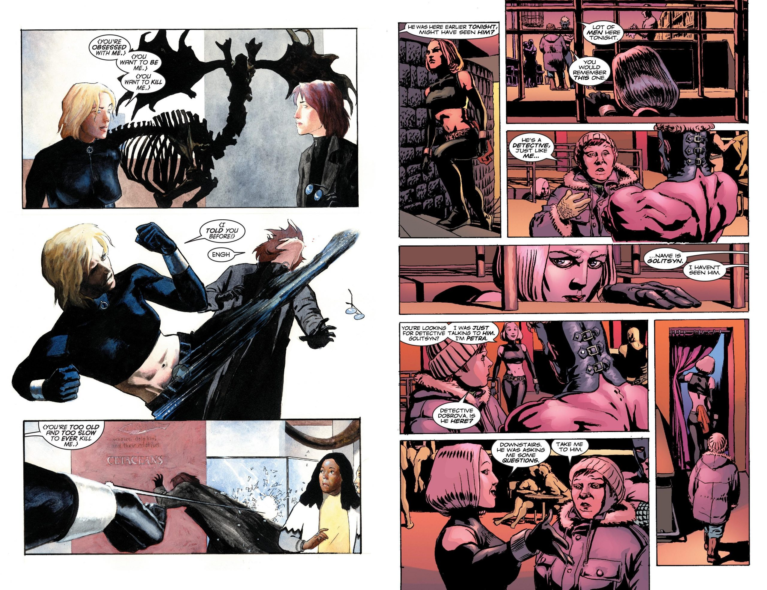 Marvel Knights Black Widow The Complete Collection