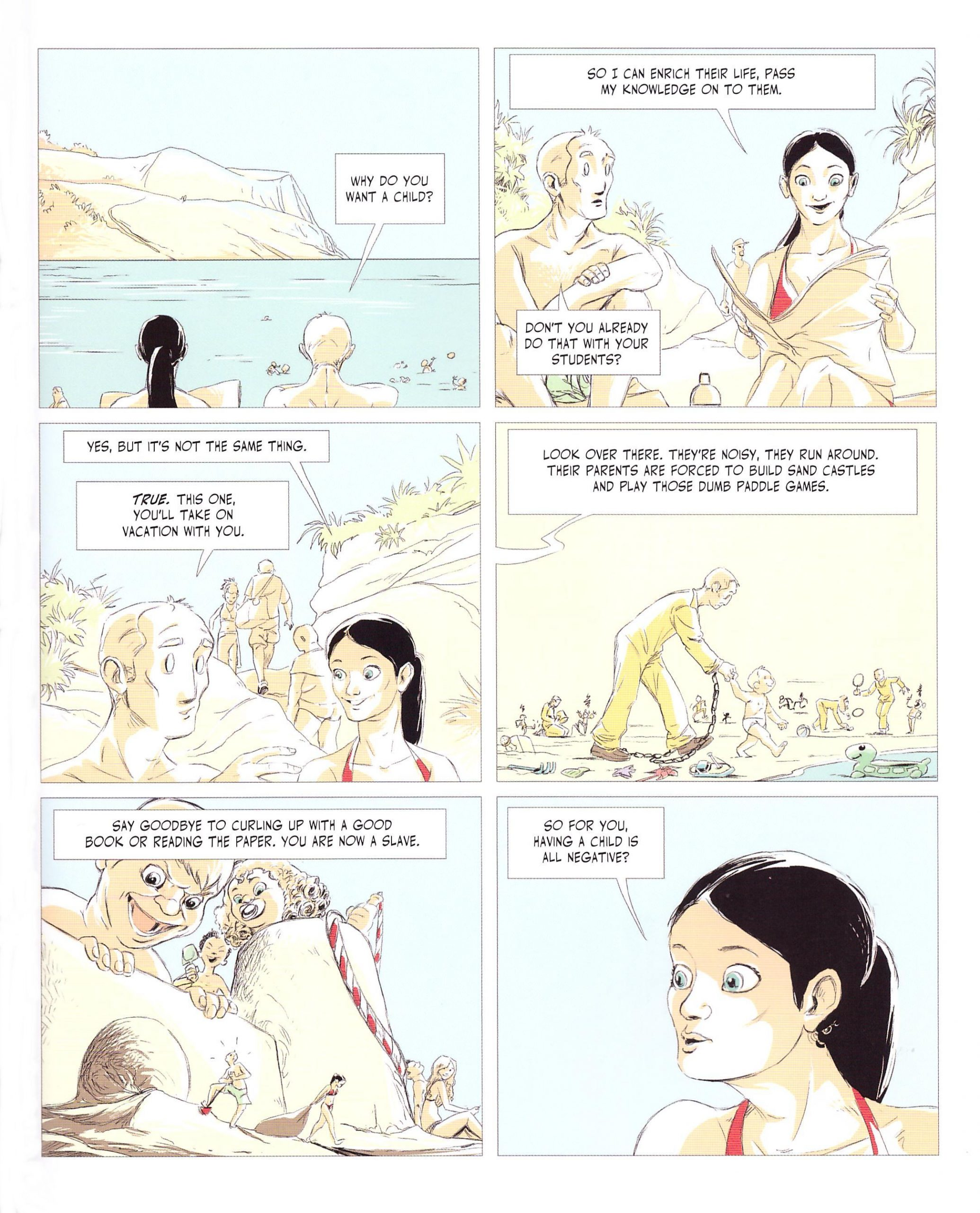 New Life graphic novel review