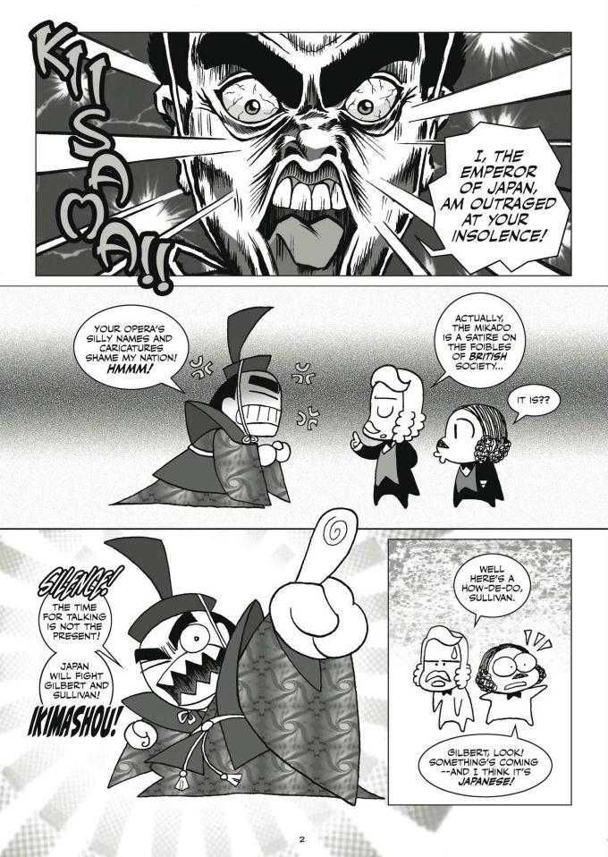 The Bizarre Adventures of Gilbert & Sullivan review