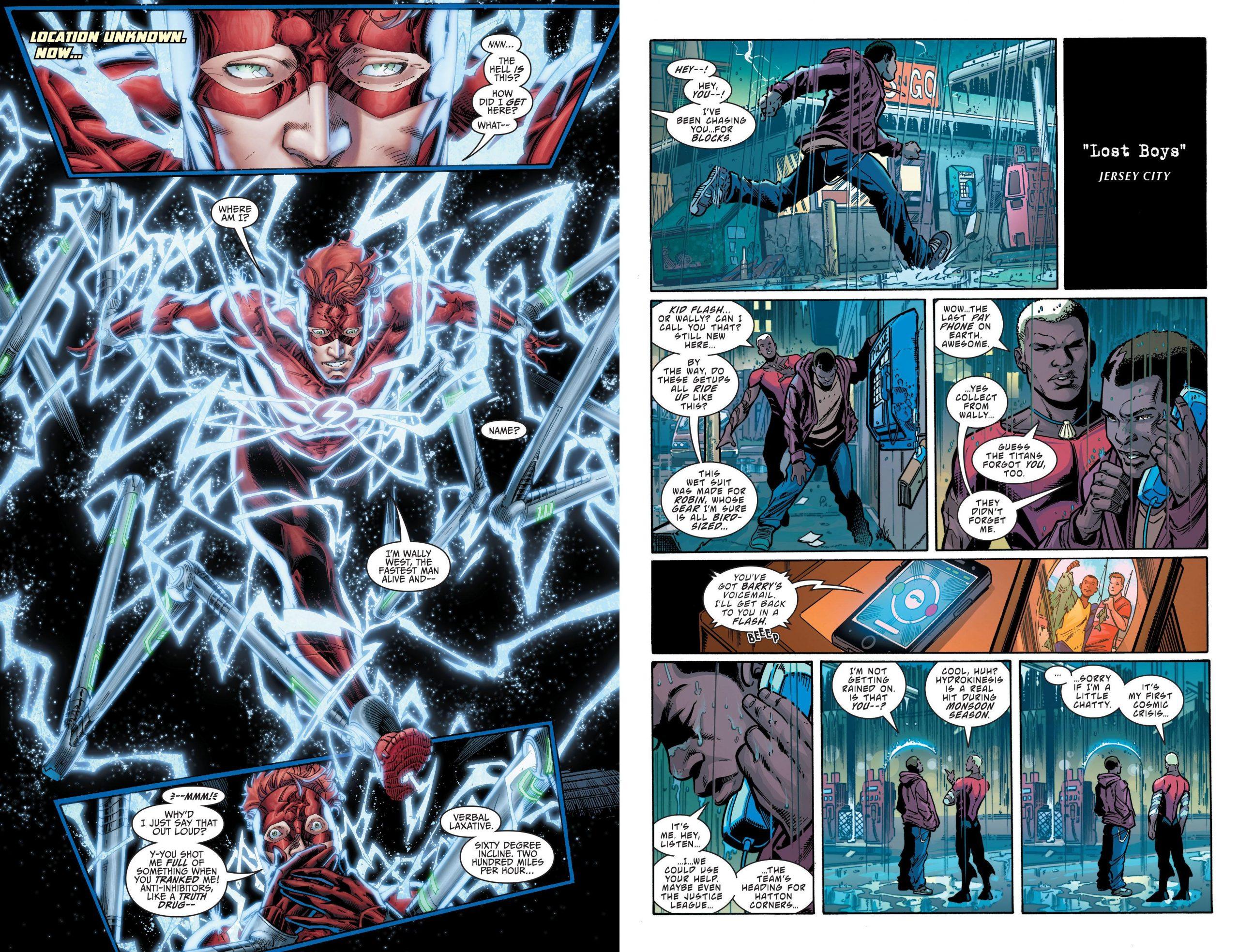 Titans - The Lazarus Contract review