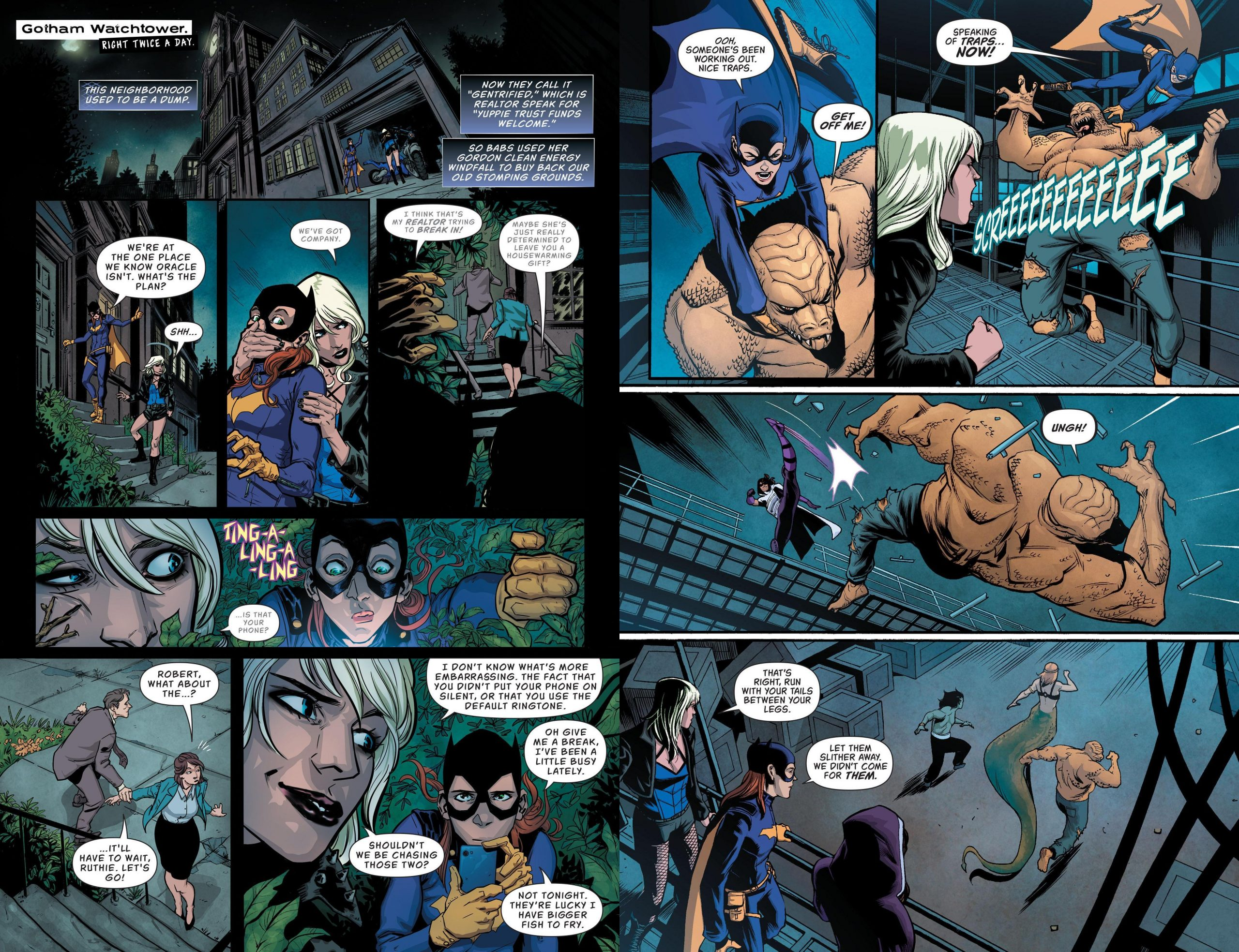 Batgirl and the Birds of Prey - Who is Oracle V1 review