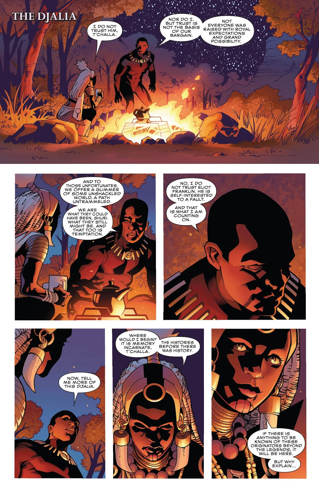 Black Panther Avengers of the New World review