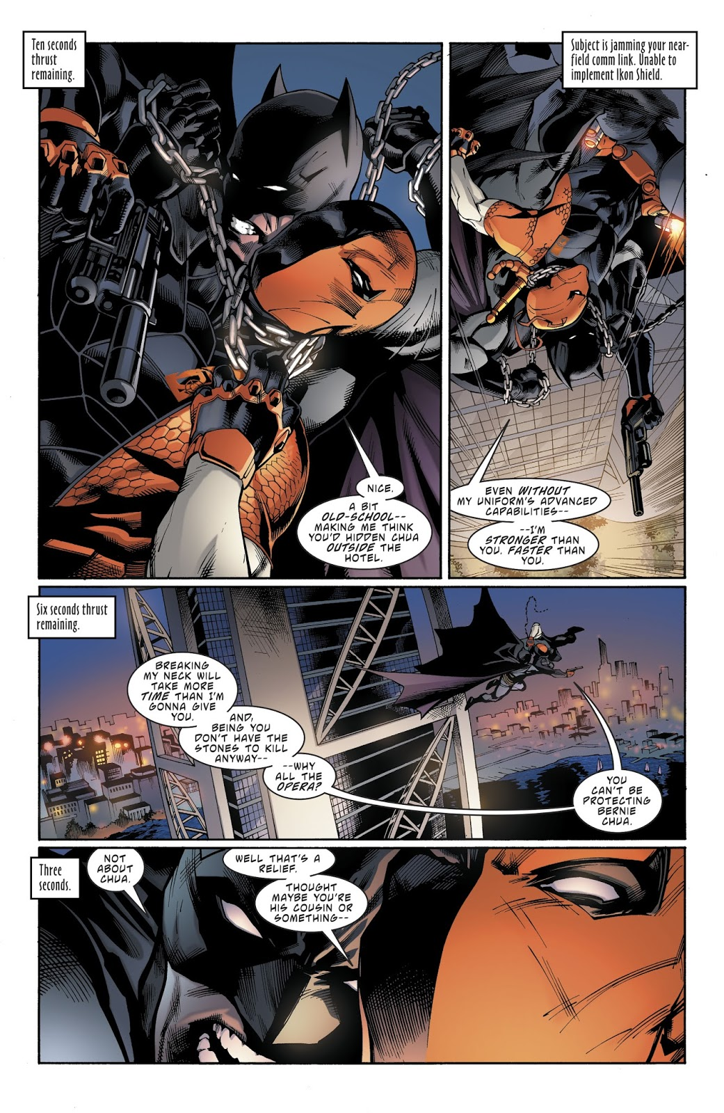 Batman vs Deathstroke review