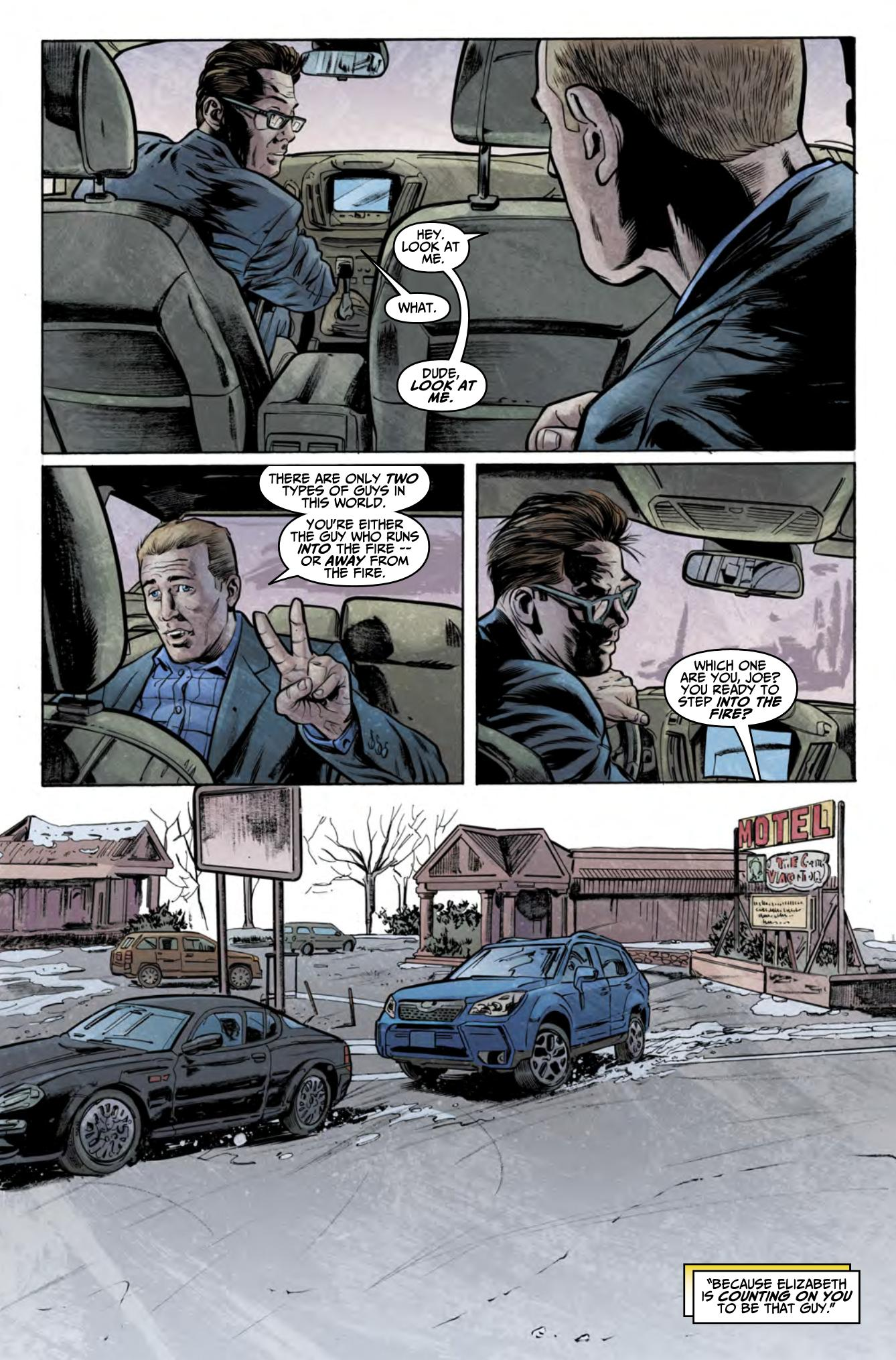 Breakneck graphic novel review