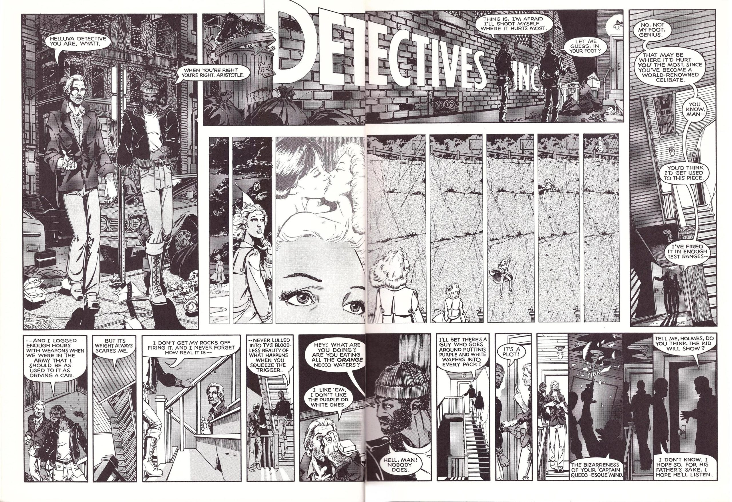 Detectives Inc A Remembrance of Threatening Green review