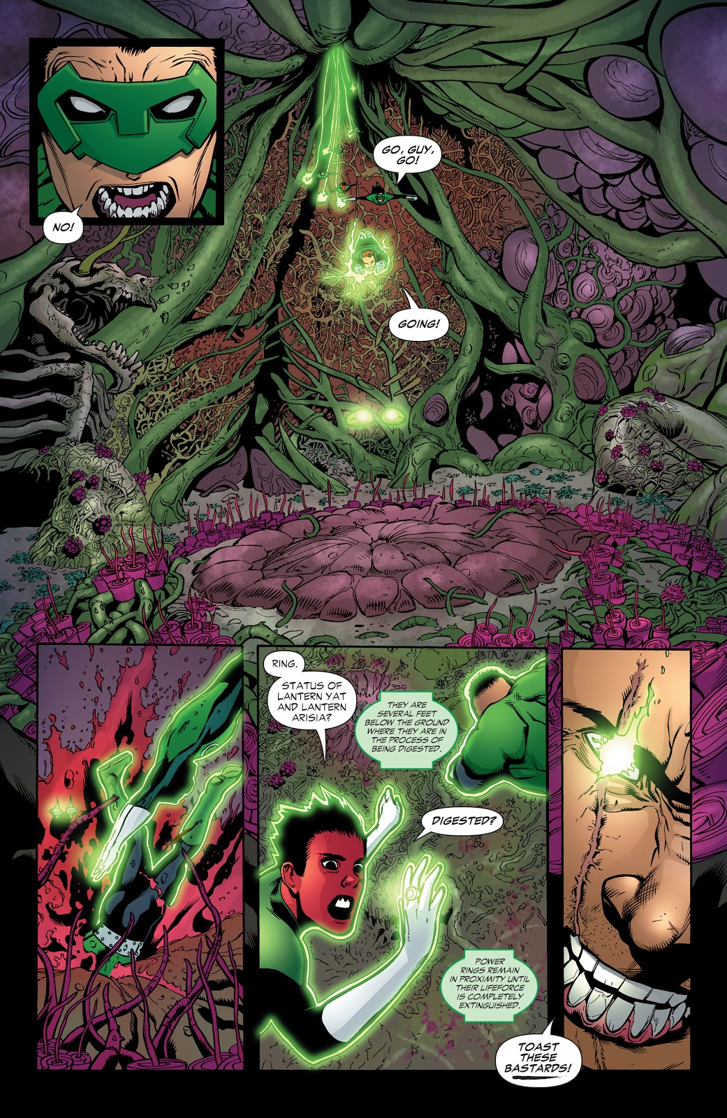 Green Lantern Corps Ring Quest review