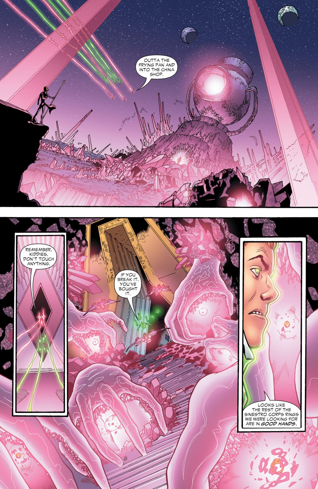 Green Lantern Corps Sins of the Star Sapphires review