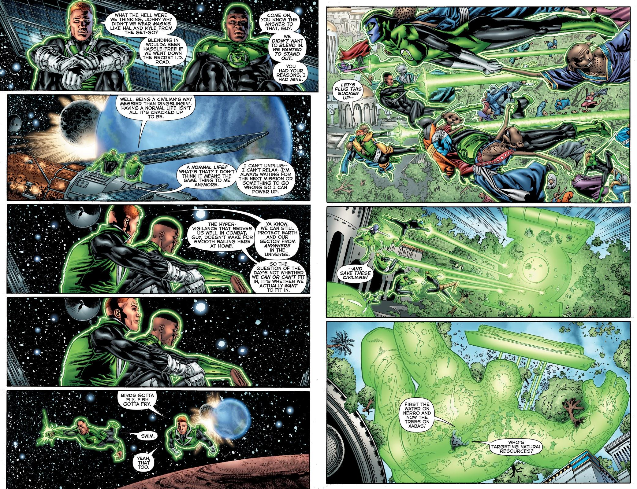 Green Lantern Corps V1 Fearsome review
