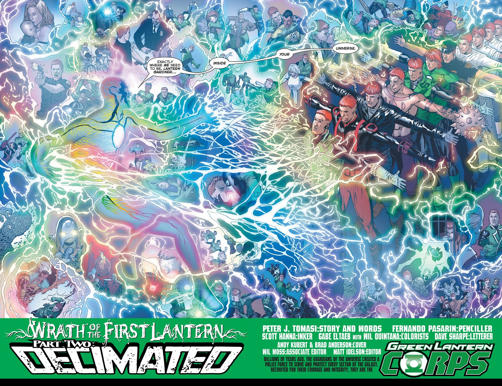 Green Lantern Corps V3 Willpower review