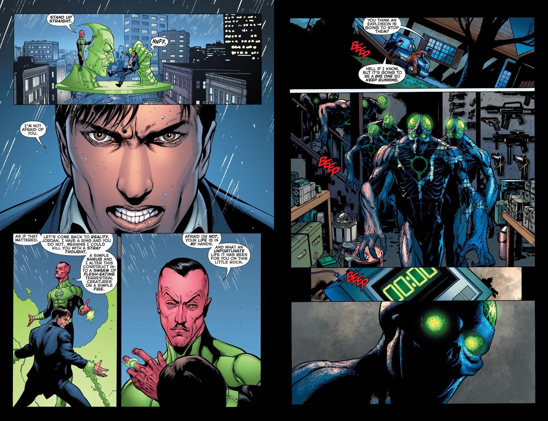 Green Lantern by Geoff Johns Omnibus V3 review