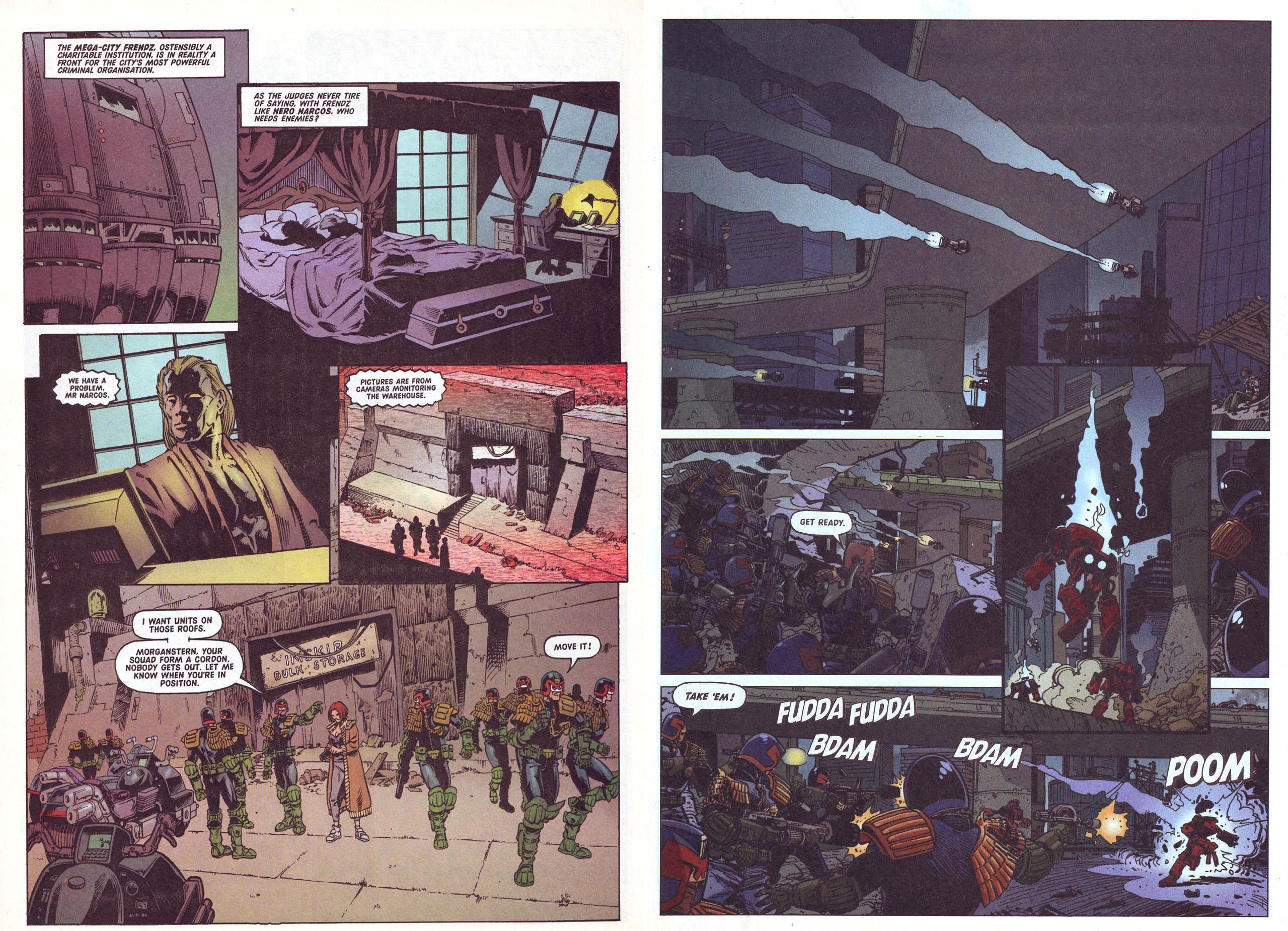 Judge Dredd Doomsday for Mega City One review
