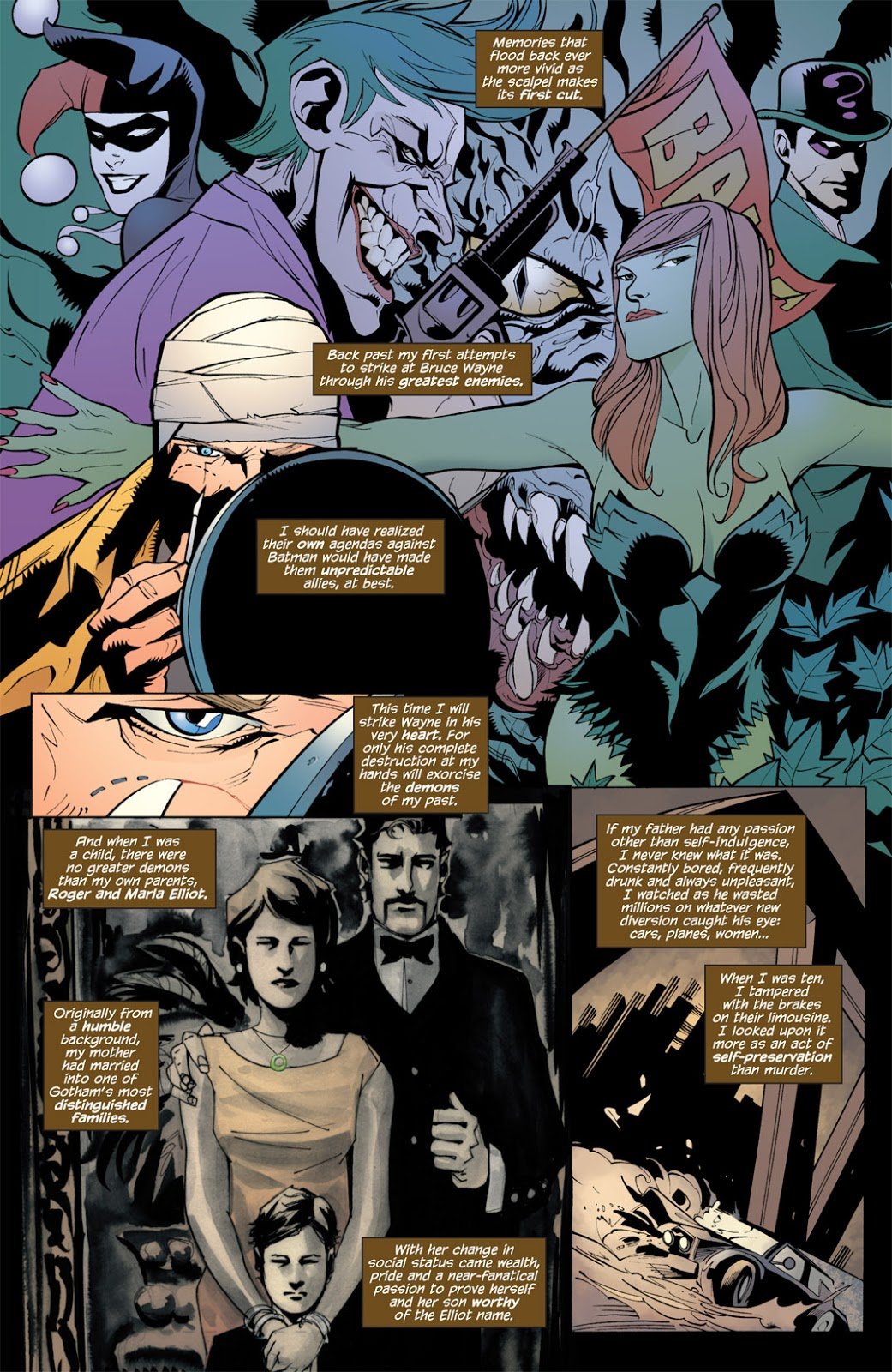 Batman the Heart of Hush review