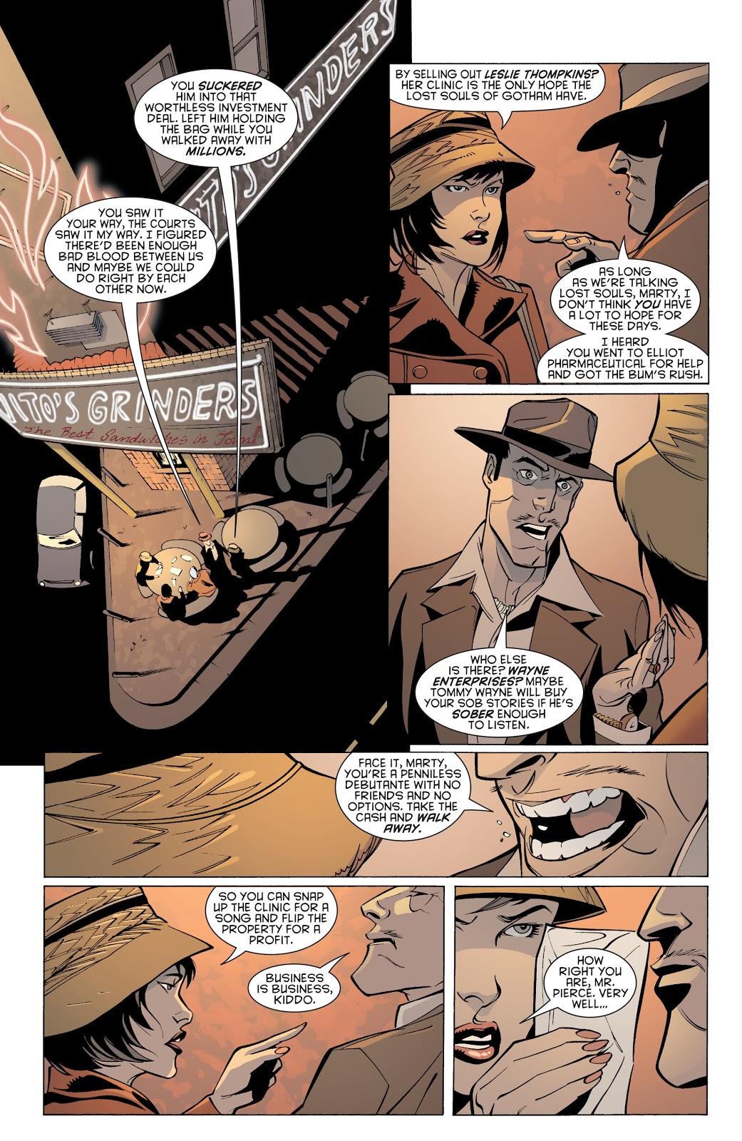 Batman Streets of Gotham House of Hush review