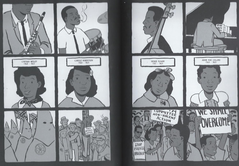 Coltrane graphic novel review