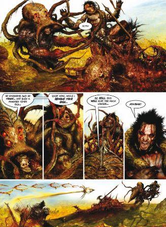 Slaine Books of Invasions Volume 2 Scota and Tara Review