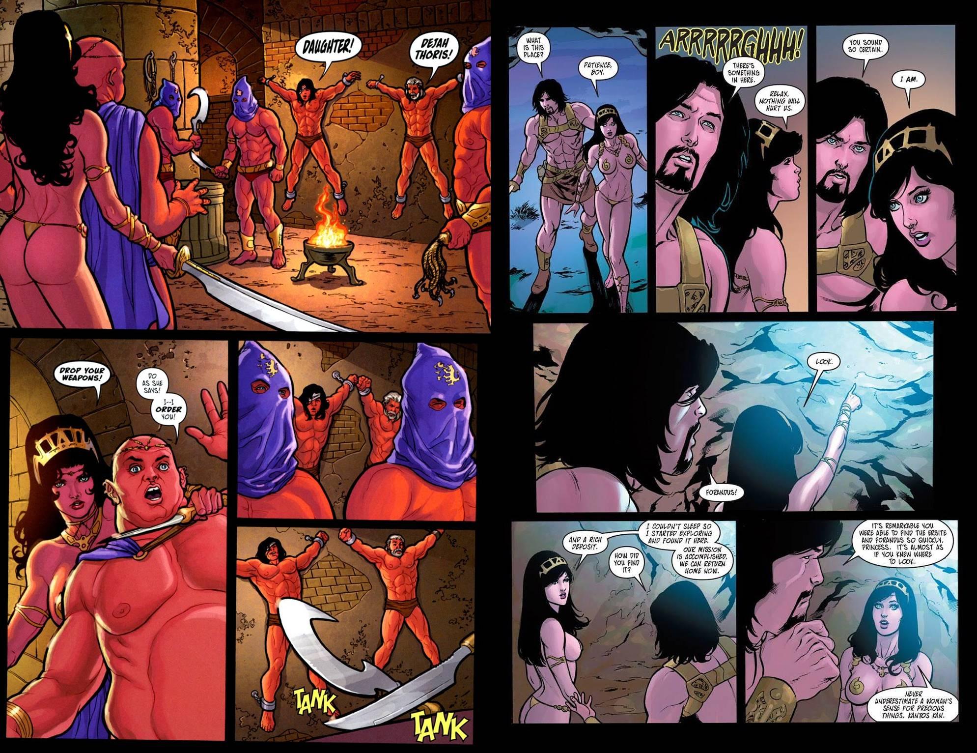 Warlord of Mars Dejah Thoris Omnibus Volume one review
