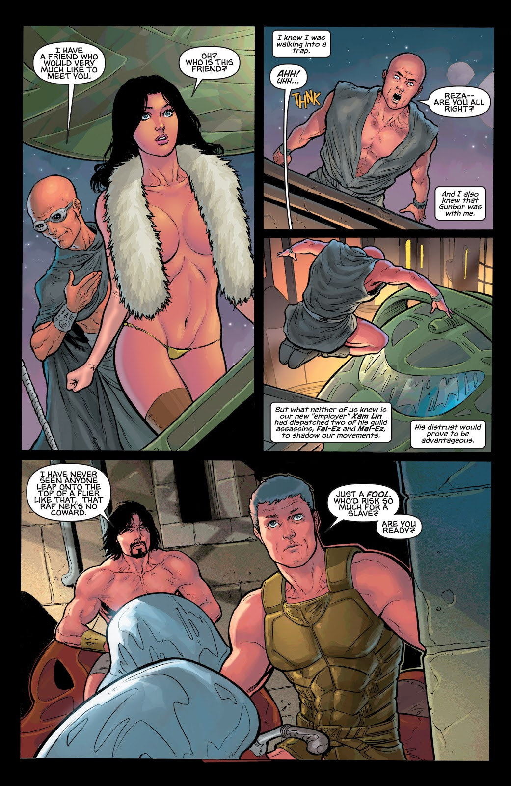 Warlord of Mars Dejah Thoris V5 Rise of the Machine Men review