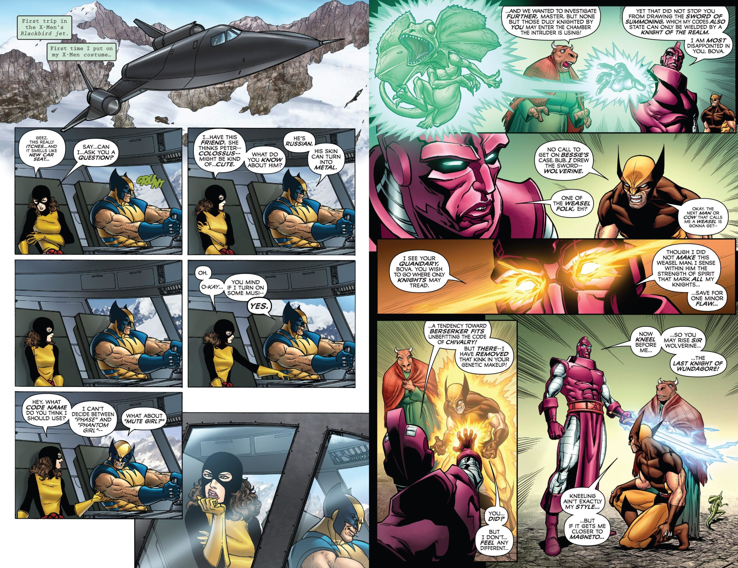 Wolverine - First Class - The Rookie review