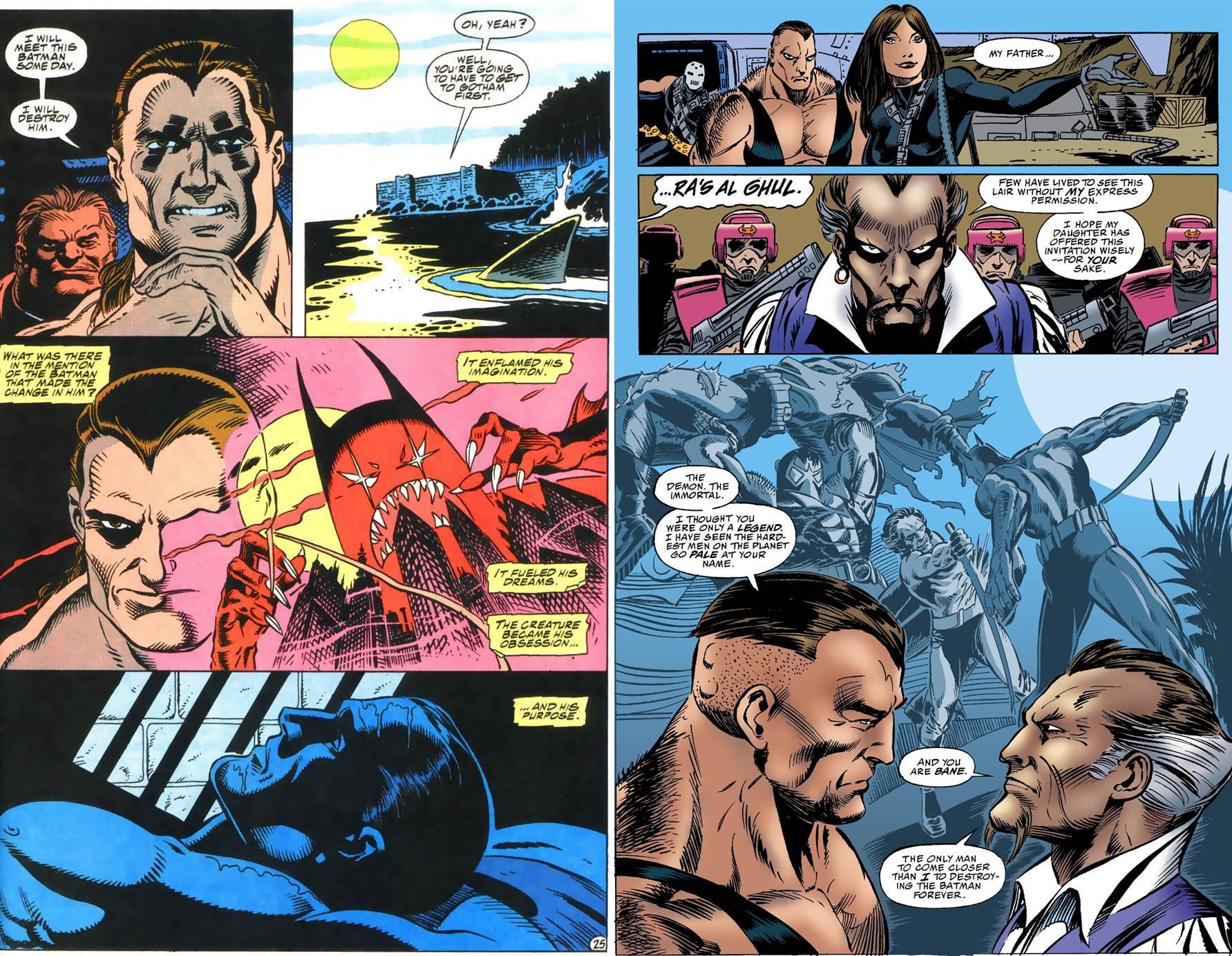 Batman Versus Bane review