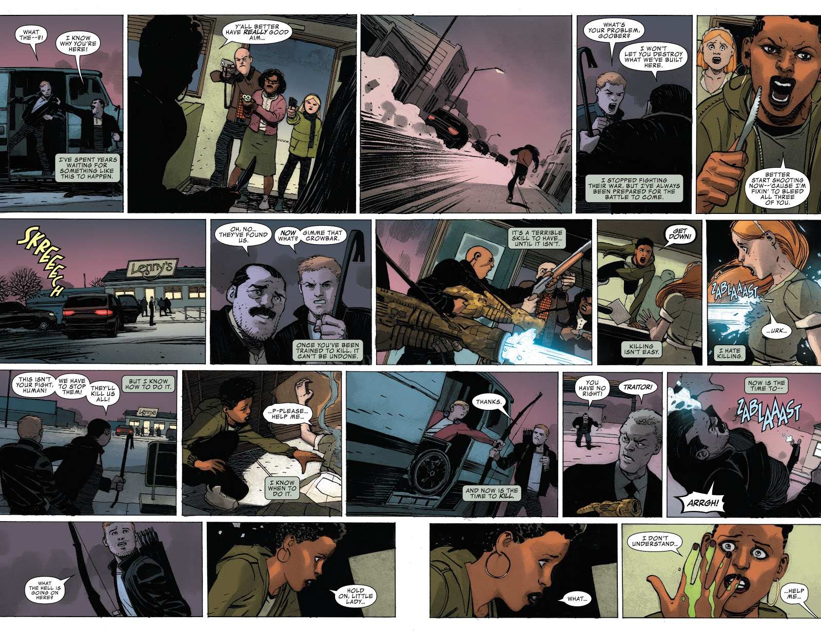 Occupy Avengers In Plain Sight review