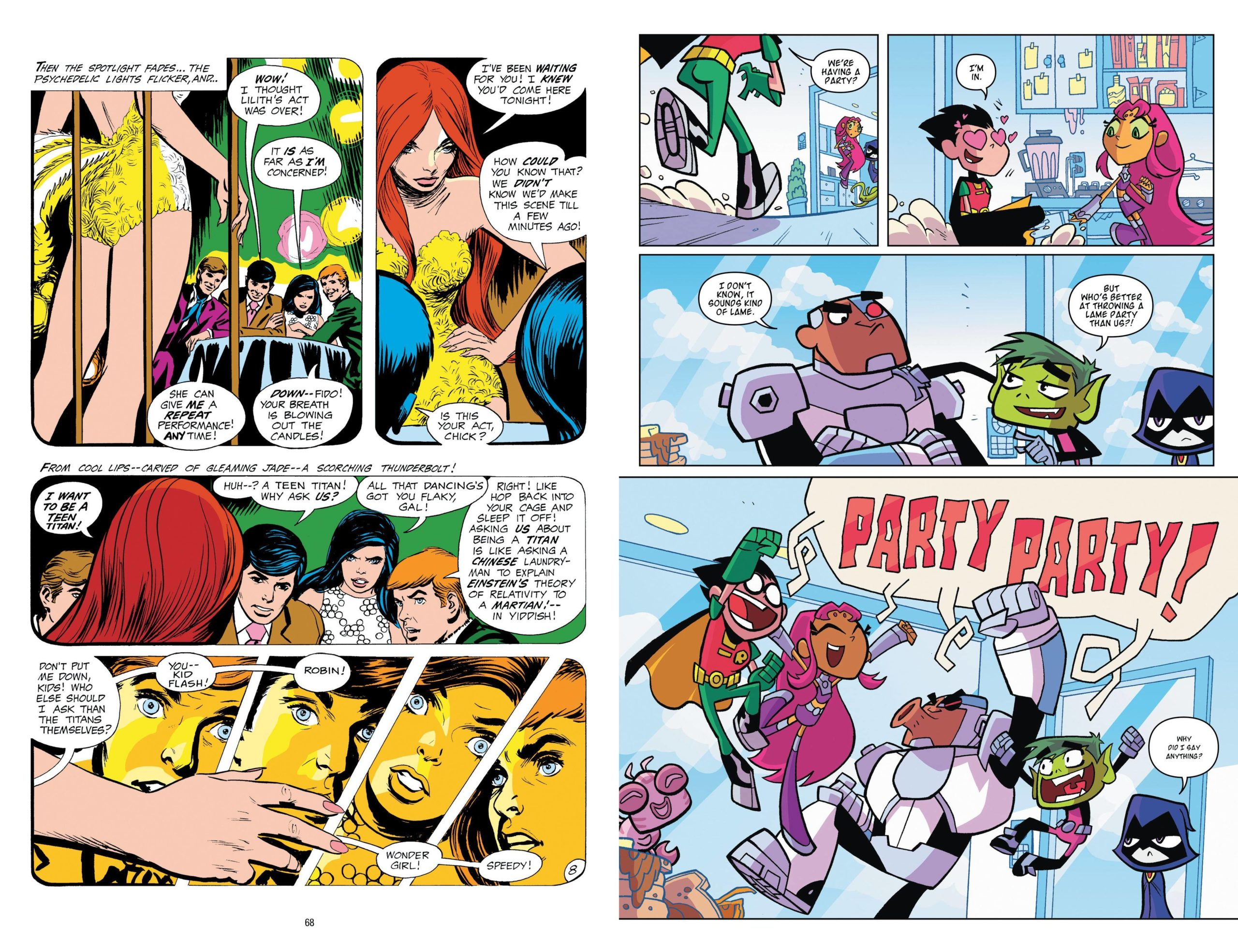 Teen Titans A Celebration of 50 Years review