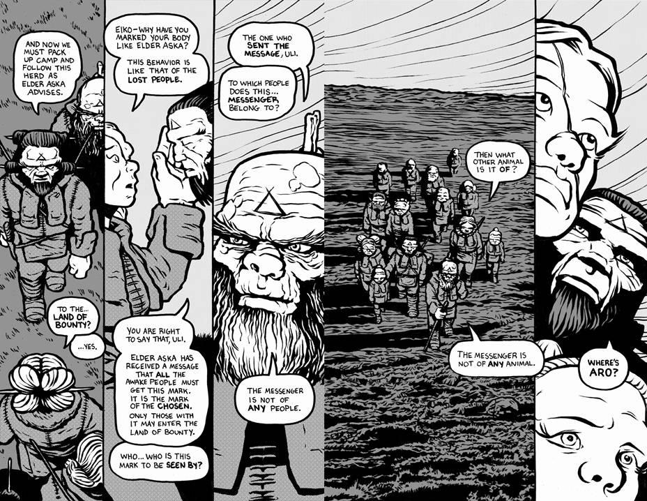 Bering Strait graphic novel review