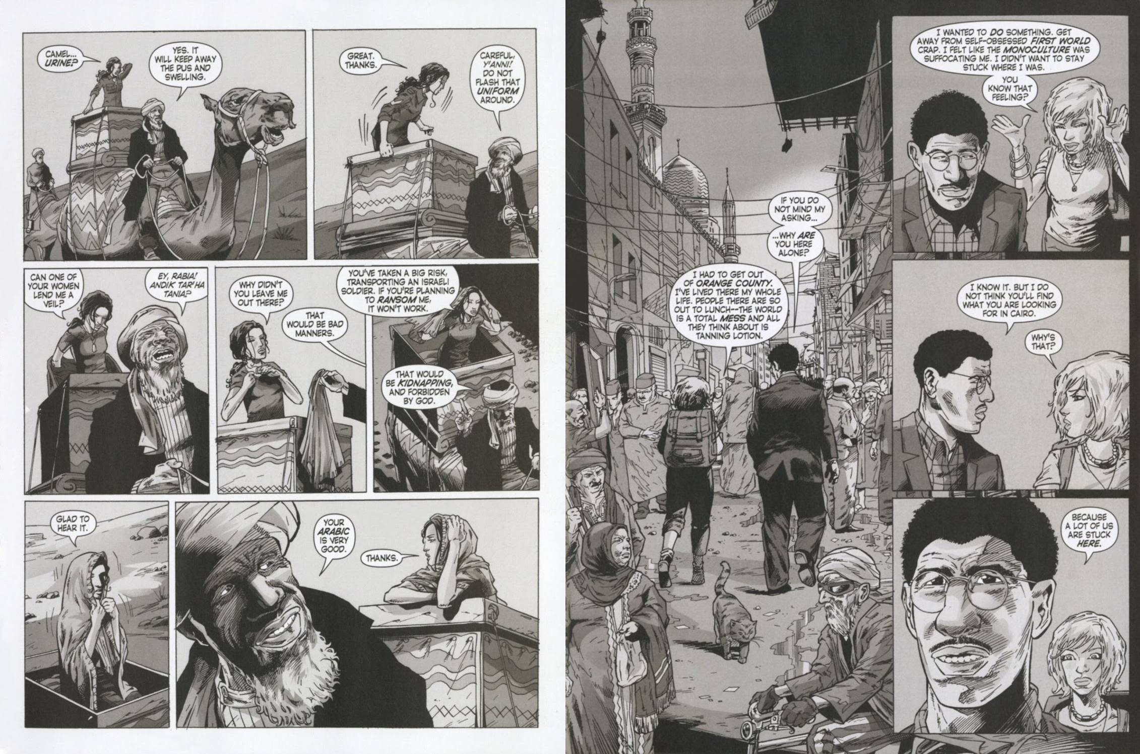 Cairo graphic novel review
