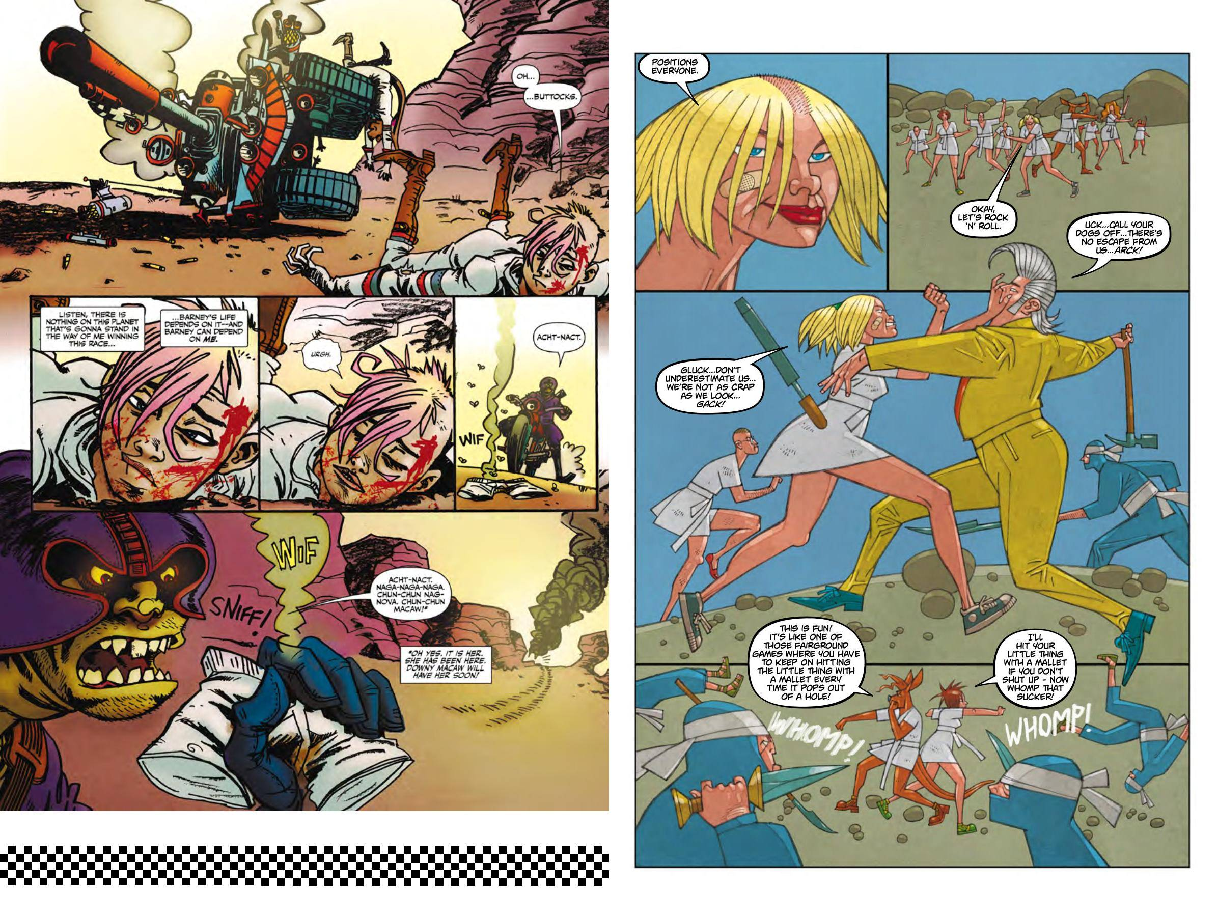 Dirty Old Tank Girl review