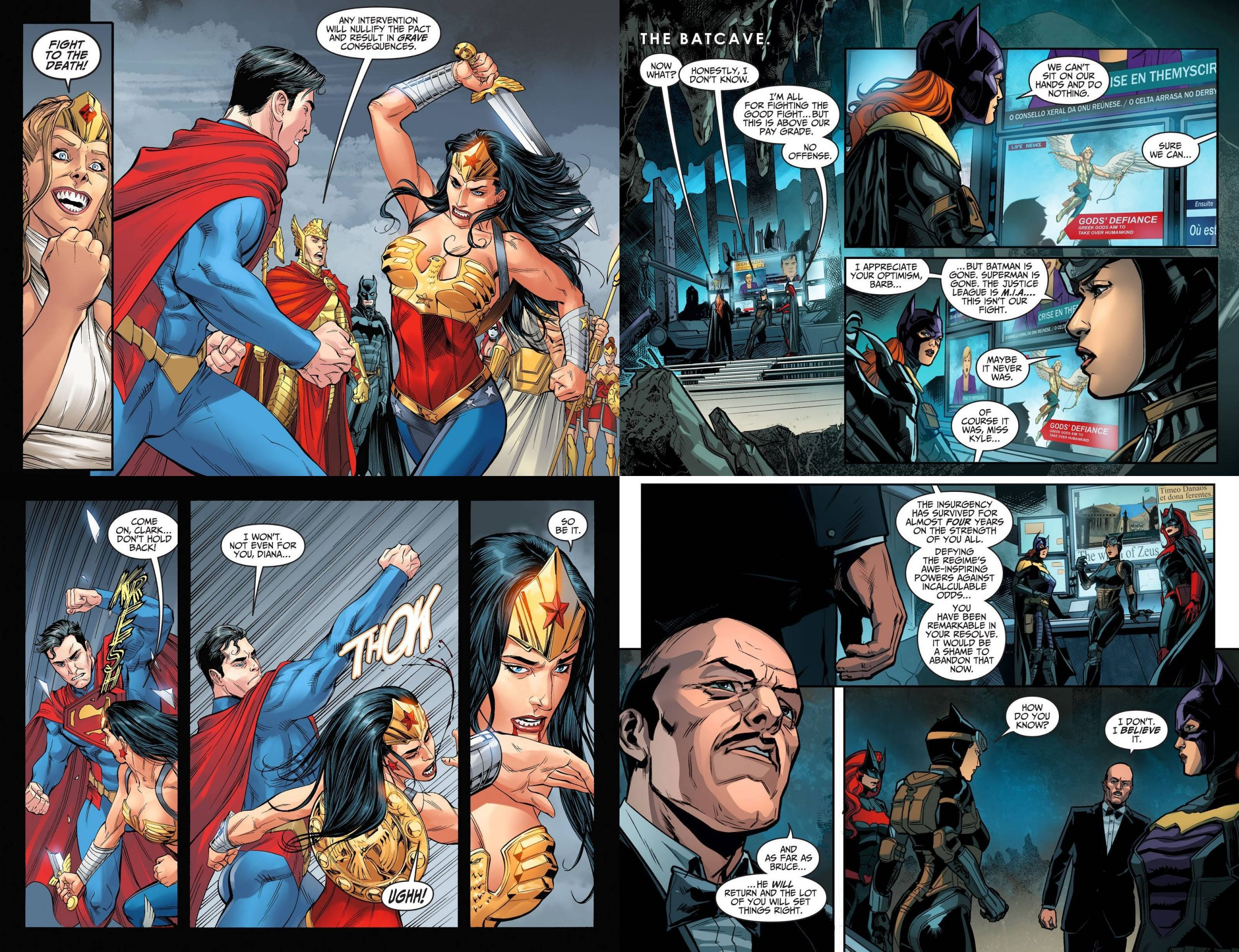 Injustice Gods Among Us Year Four review
