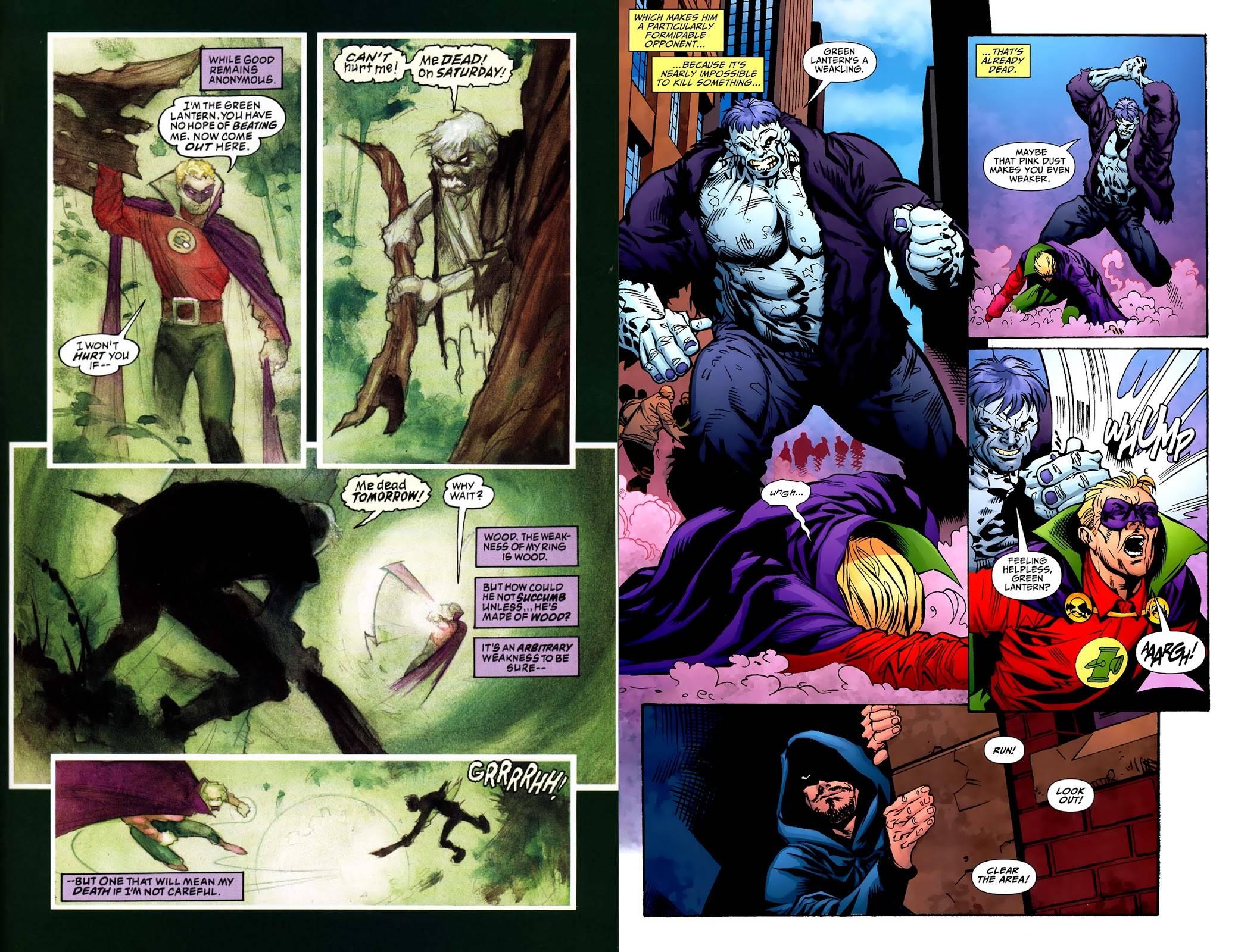 JSA Presents Green Lantern review