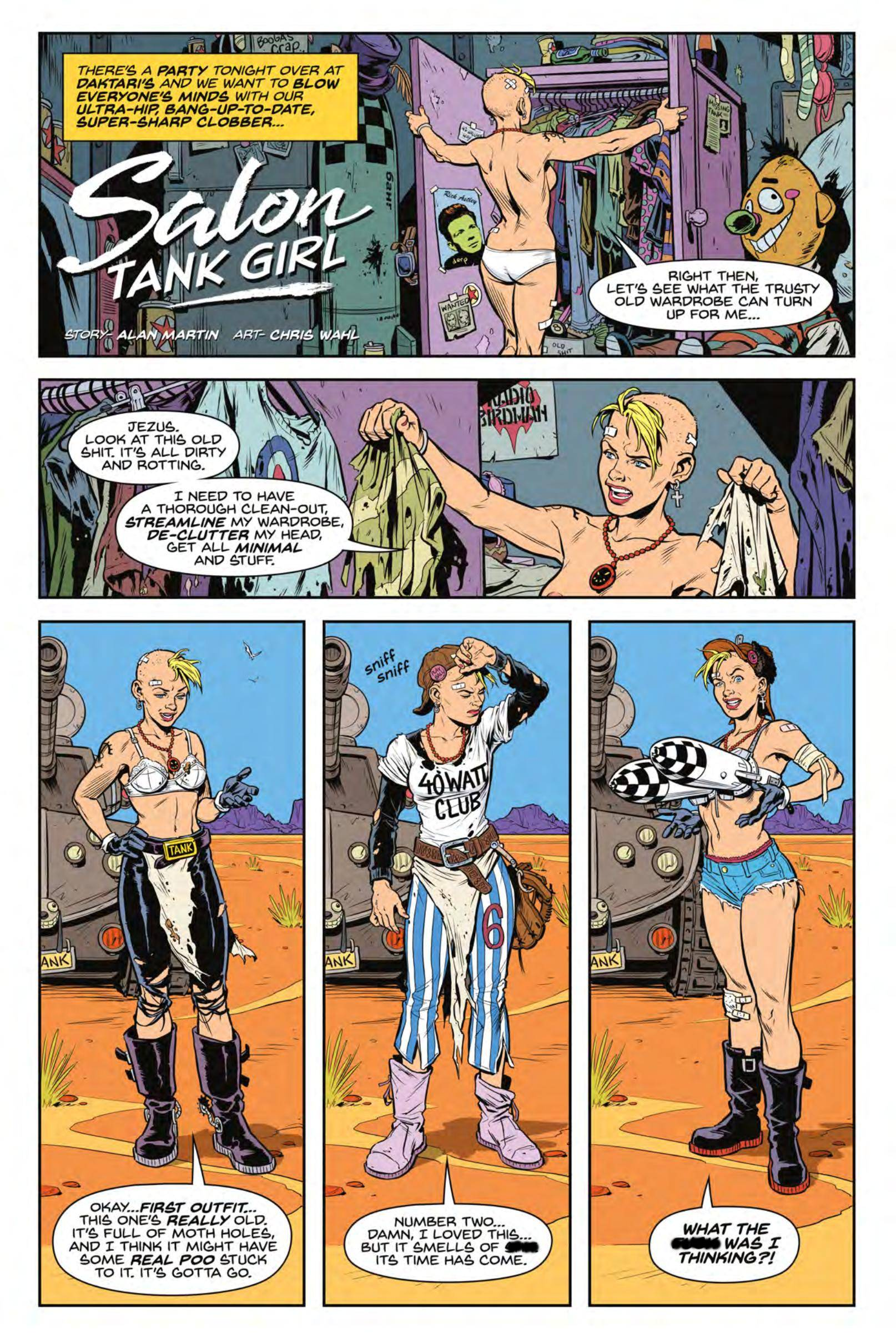 Tank Girl All-Stars review